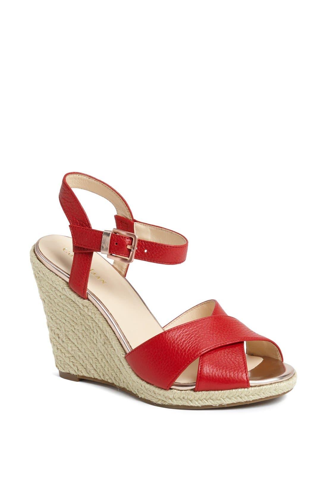Main Image - Cole Haan 'Hart' Wedge Platform Sandal
