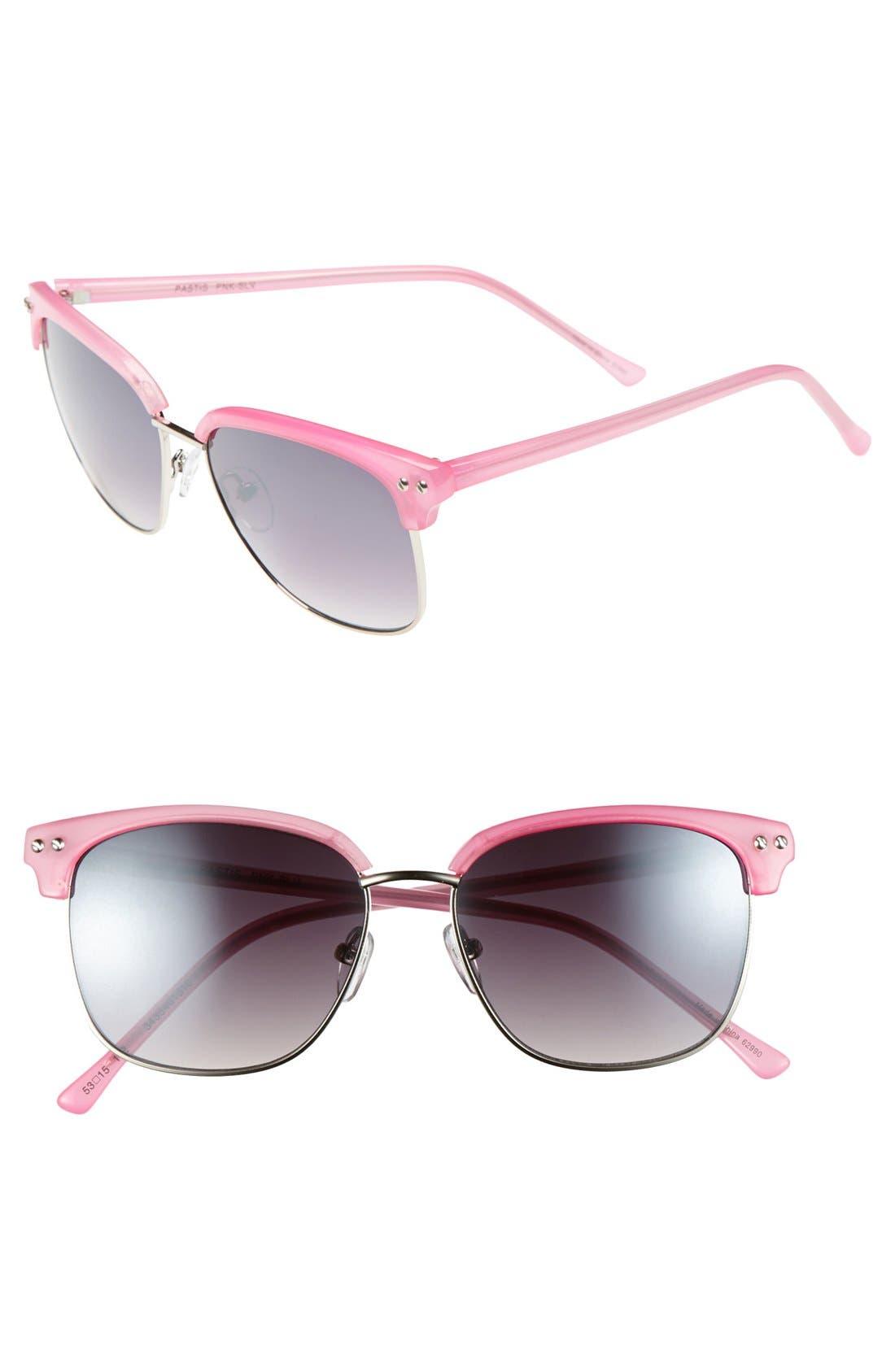 Main Image - Outlook Eyewear 'Pastis' 53mm Sunglasses