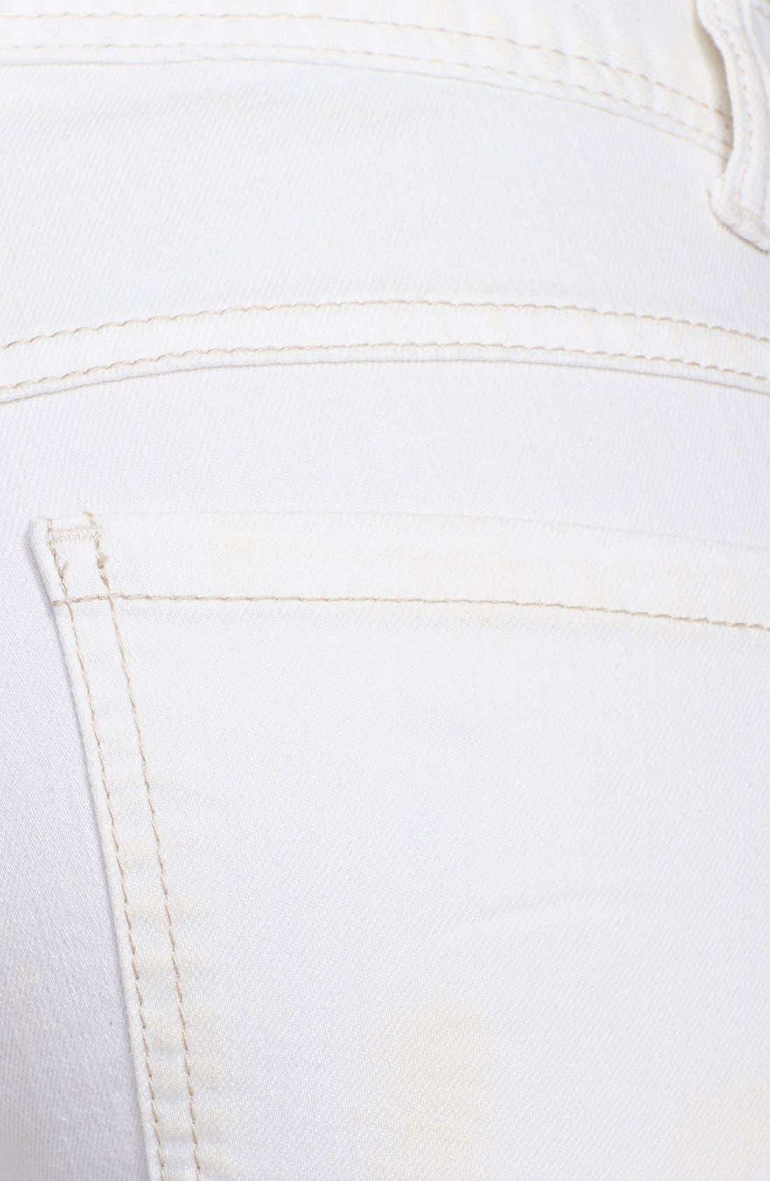 Alternate Image 3  - Free People Mid Rise Skinny Jeans