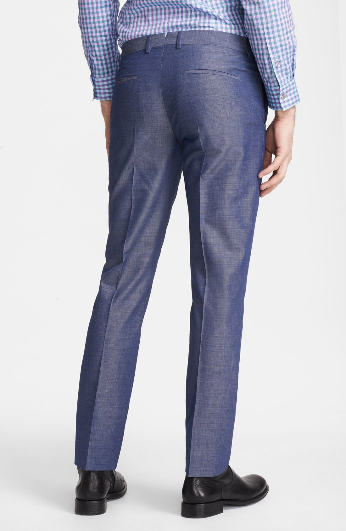 Alternate Image 2  - PS Paul Smith Slim Fit Textured Pants