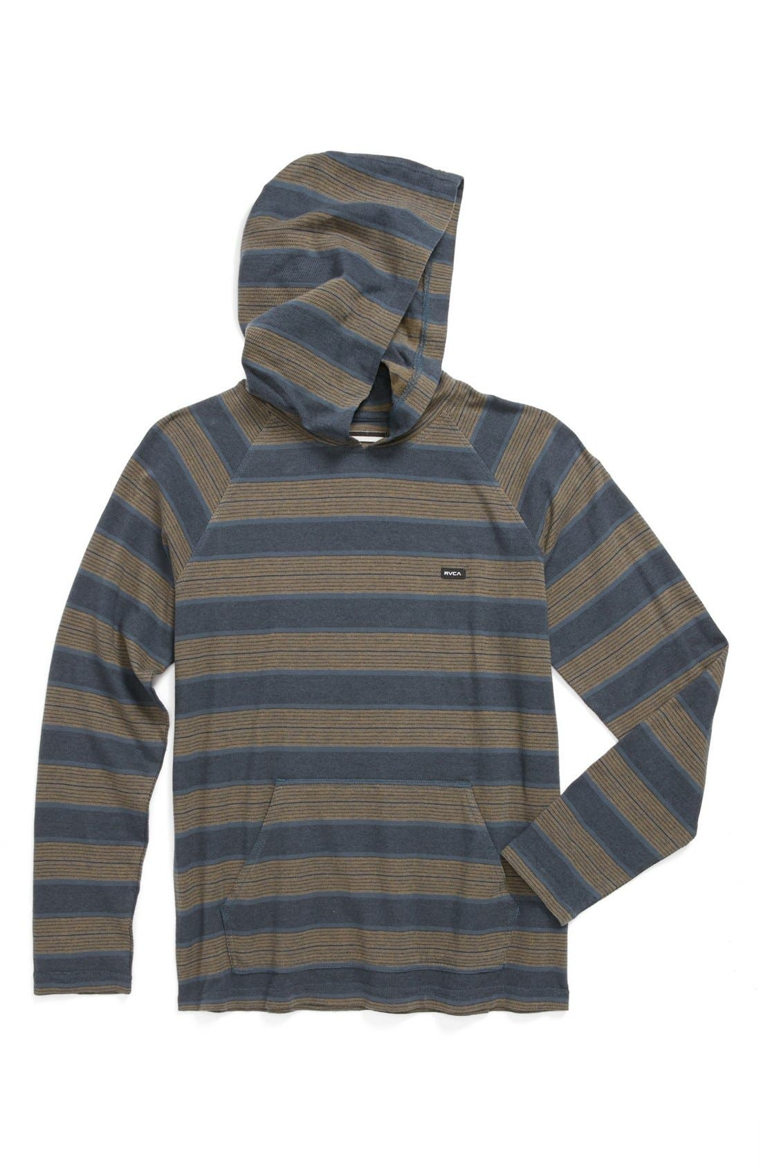 Alternate Image 1 Selected - RVCA 'Tompkin' Knit Hoodie (Big Boys)