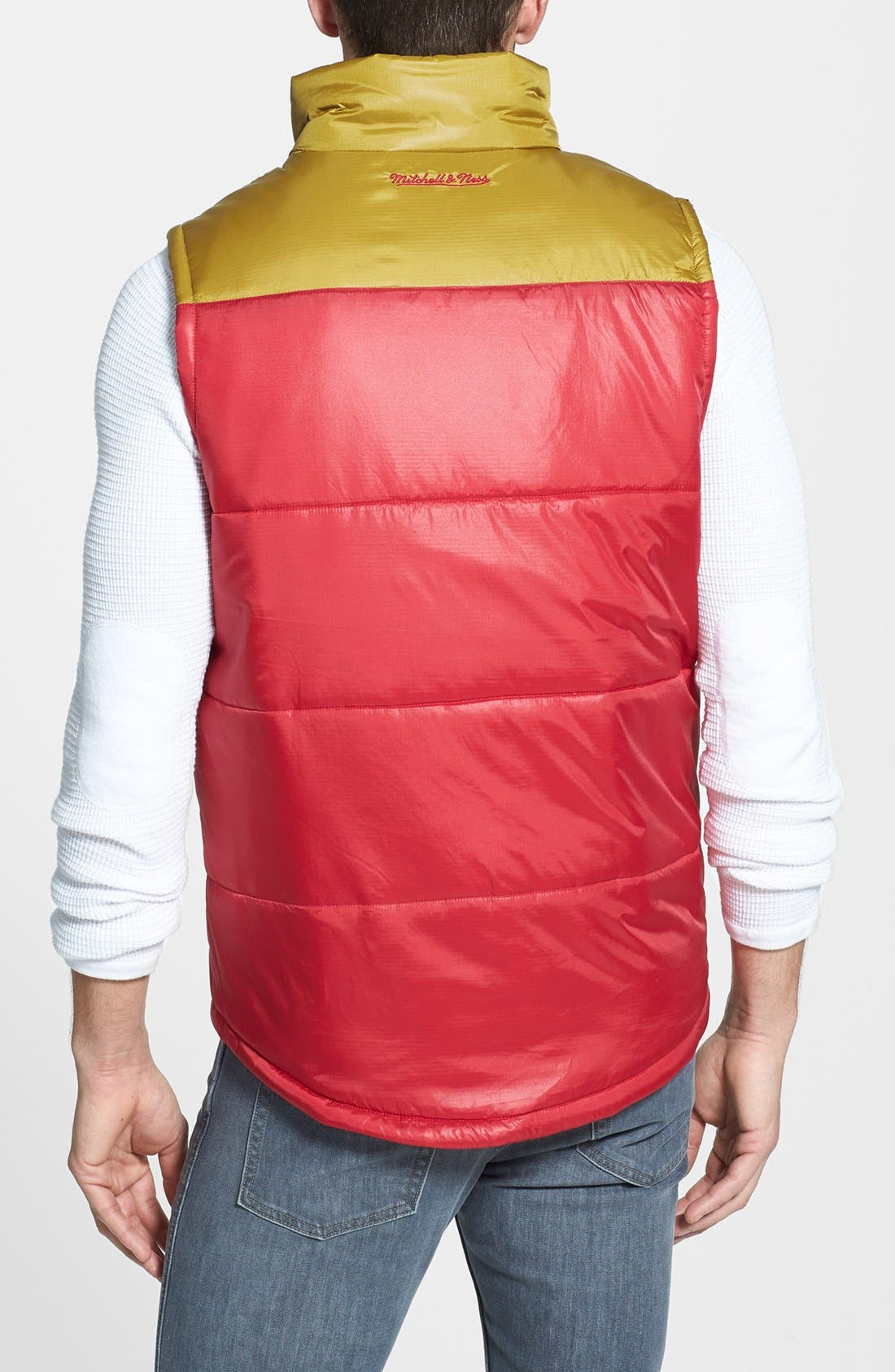 Alternate Image 2  - Mitchell & Ness 'Winning Team - San Francisco 49ers' Quilted Vest