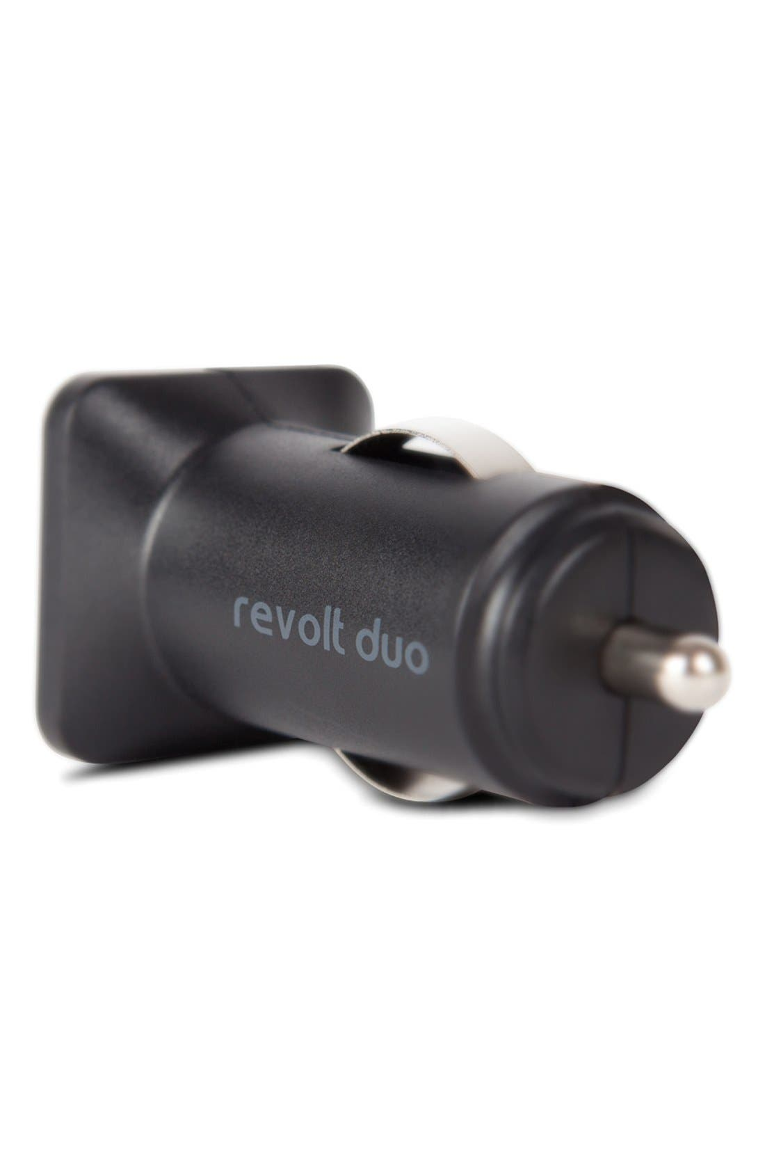 Alternate Image 4  - Moshi 'Revolt Duo' 20W USB Car Charger with Lightning Cable