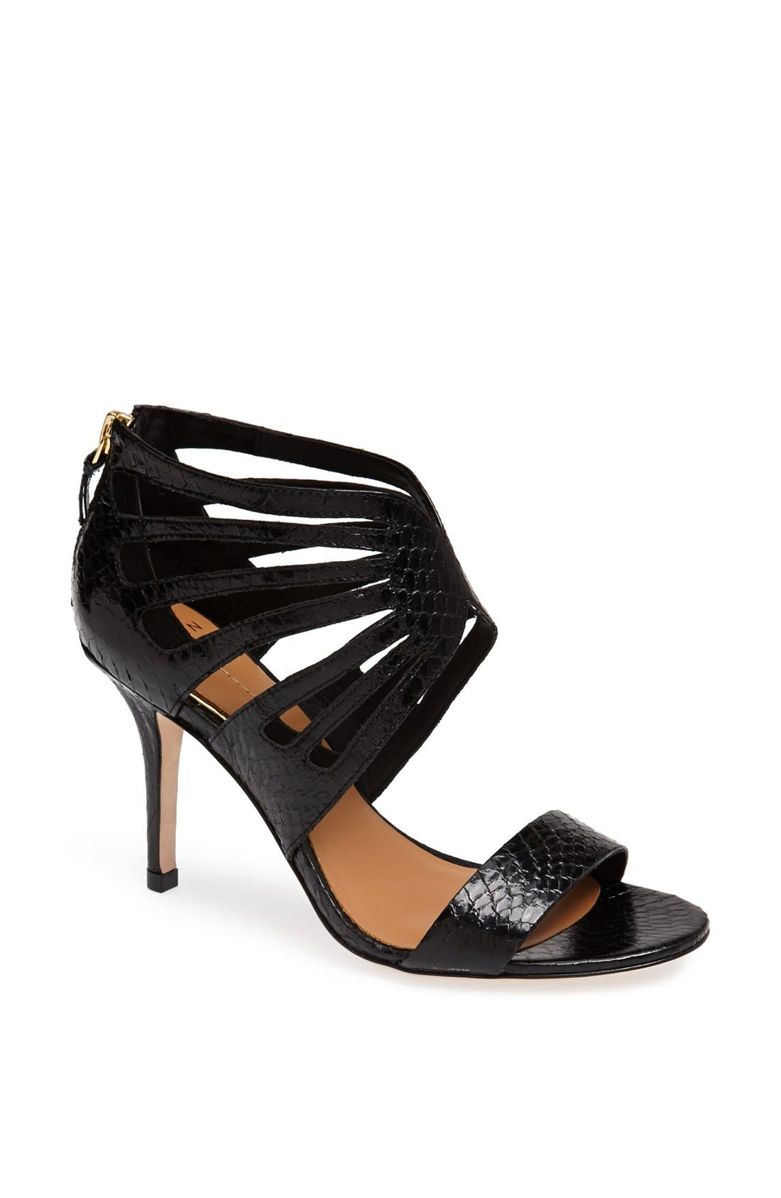 Alternate Image 1 Selected - Aerin 'Chiara' Genuine Snakeskin Sandal