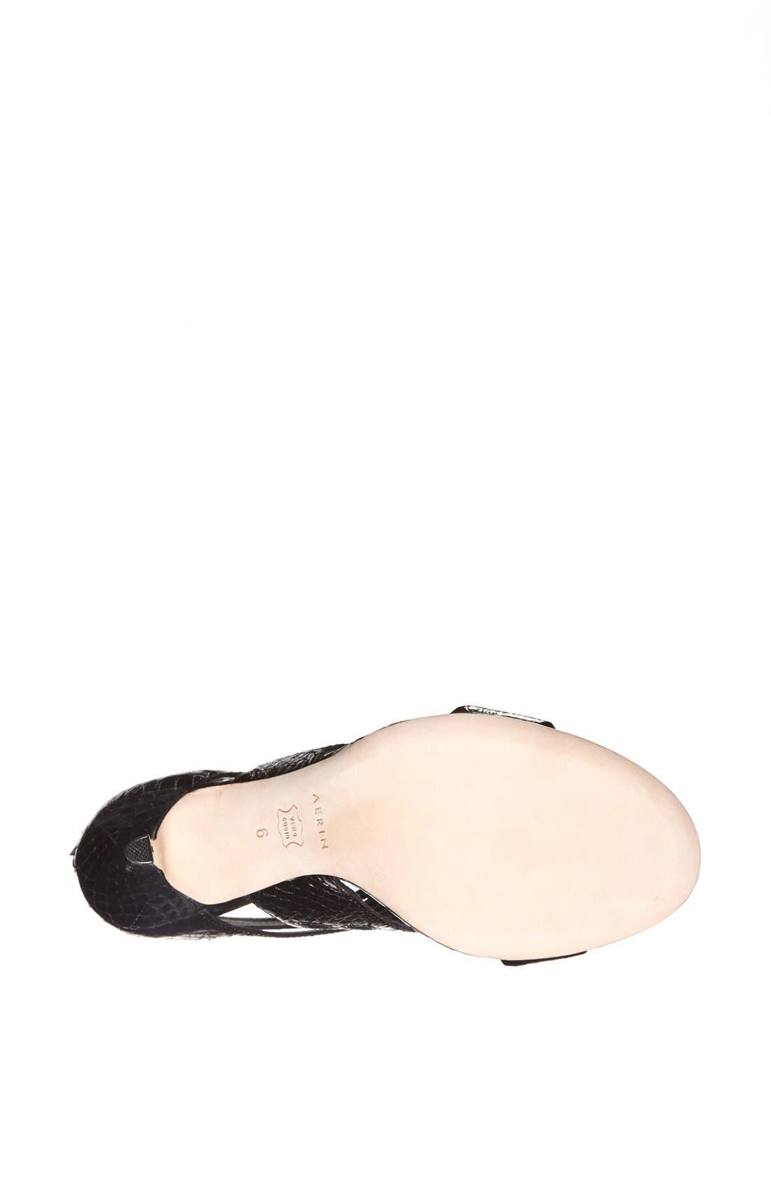 Alternate Image 4  - Aerin 'Chiara' Genuine Snakeskin Sandal