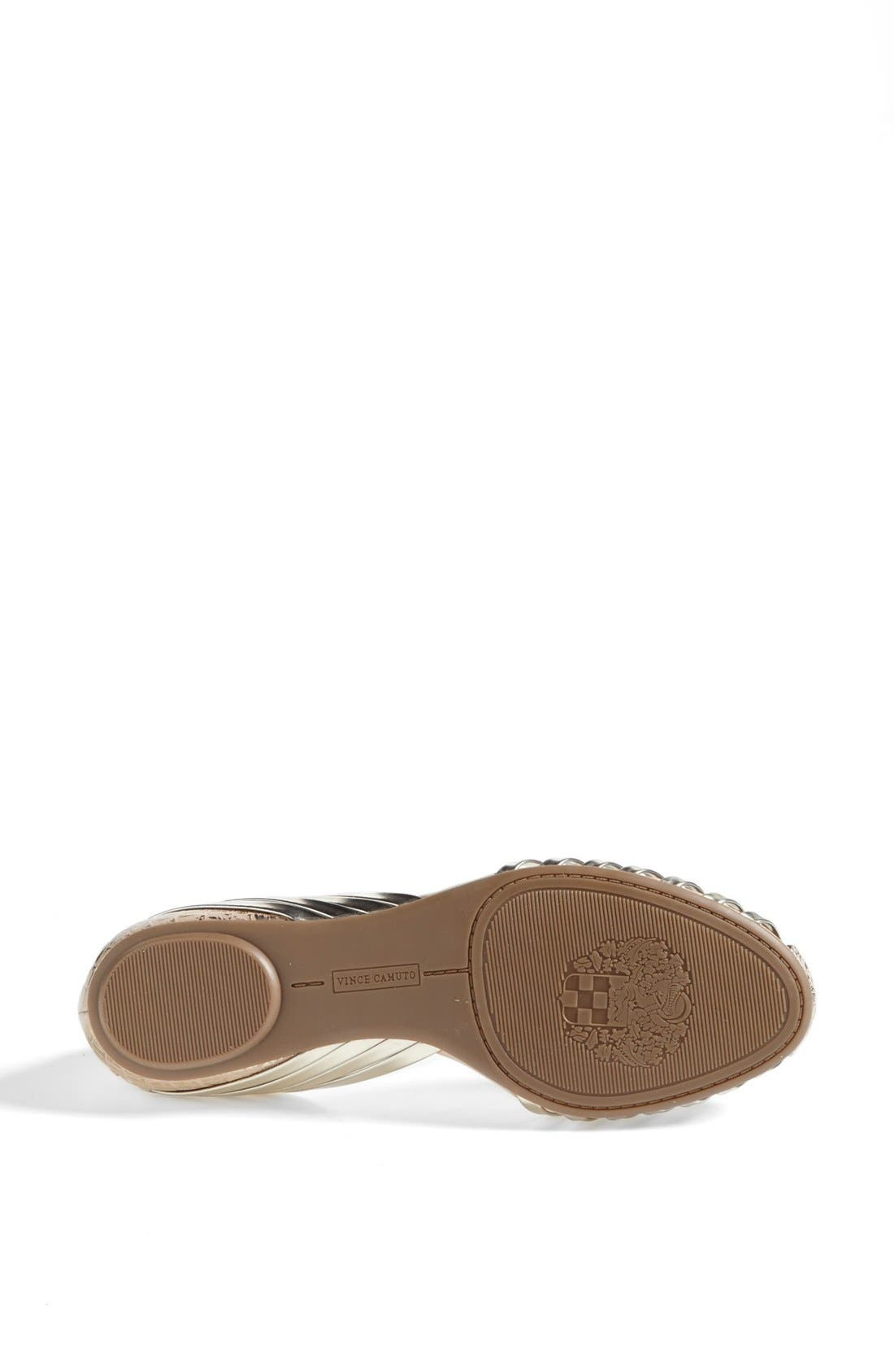 Alternate Image 4  - Vince Camuto 'Caprio' Flat