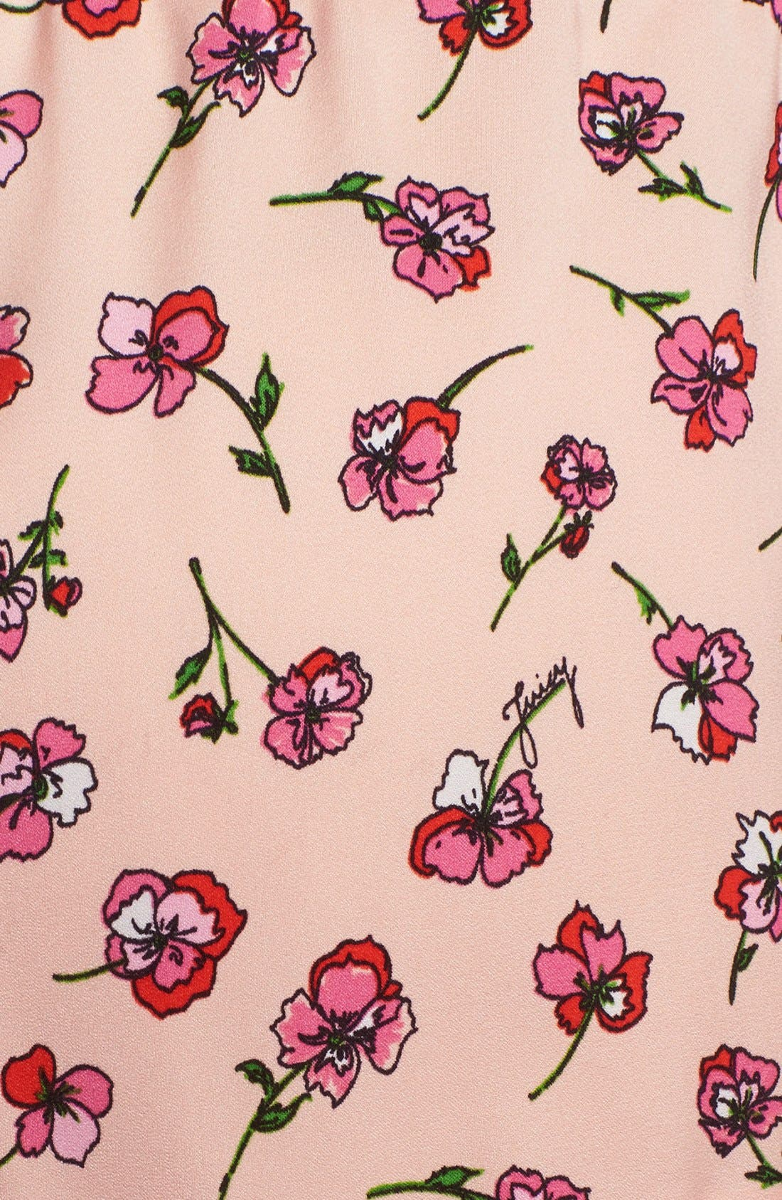 Alternate Image 3  - Juicy Couture 'Frolic' Floral Shorts