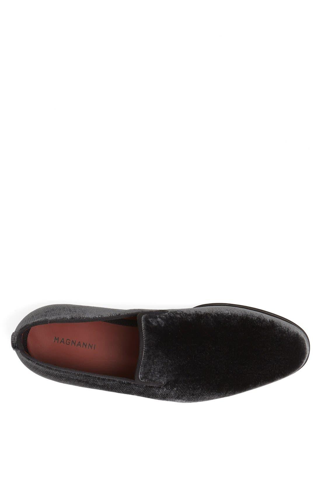 Alternate Image 3  - Magnanni 'Dorio' Velvet Venetian Loafer