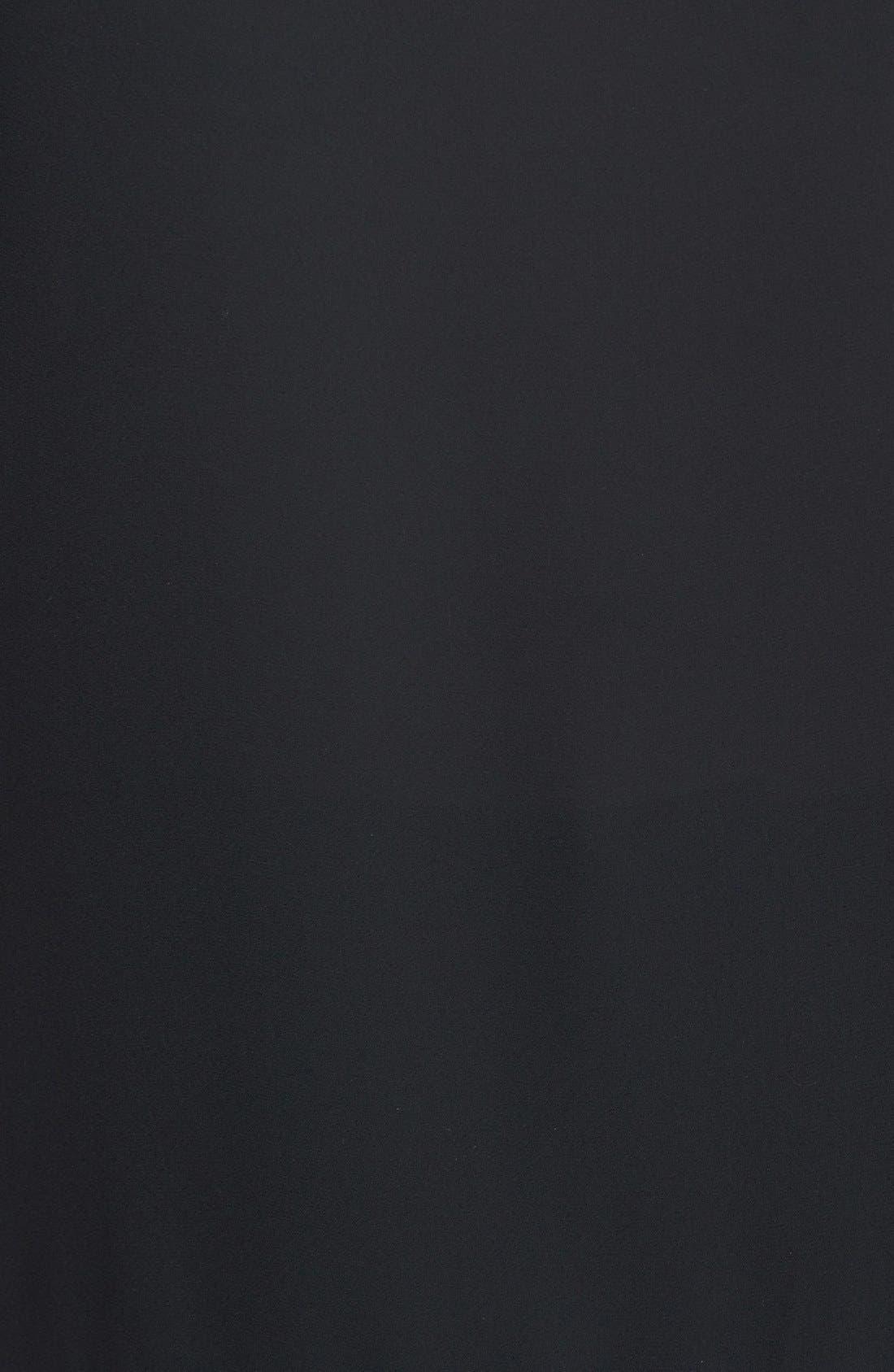 Alternate Image 3  - Pleione Colorblock Woven Front Top (Petite)