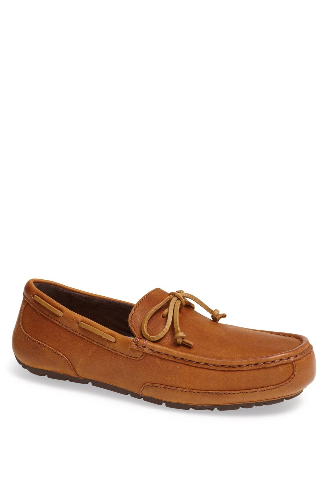 'Chester' Driving Loafer,                             Main thumbnail 1, color,                             Chestnut