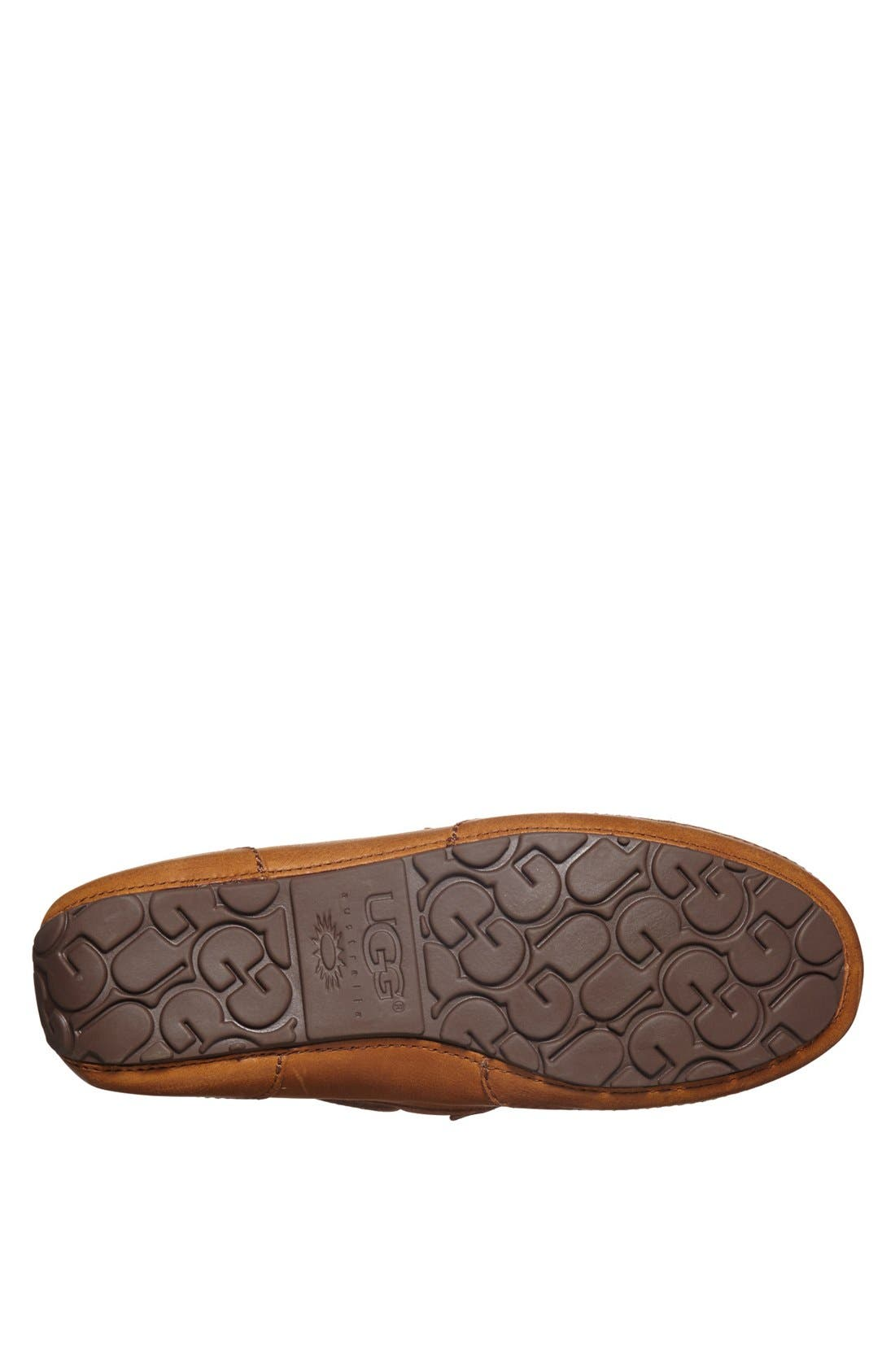 'Chester' Driving Loafer,                             Alternate thumbnail 3, color,                             Chestnut