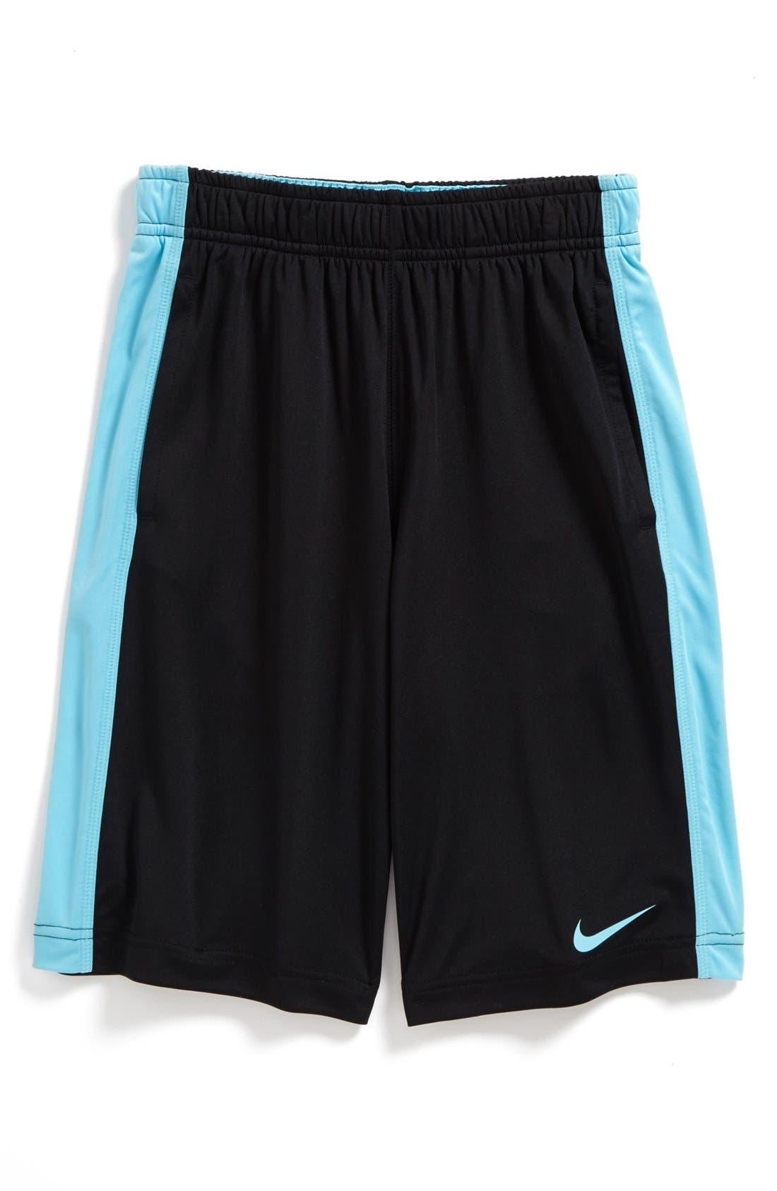 Alternate Image 1 Selected - Nike 'Fly' Dri-FIT Shorts (Big Boys)