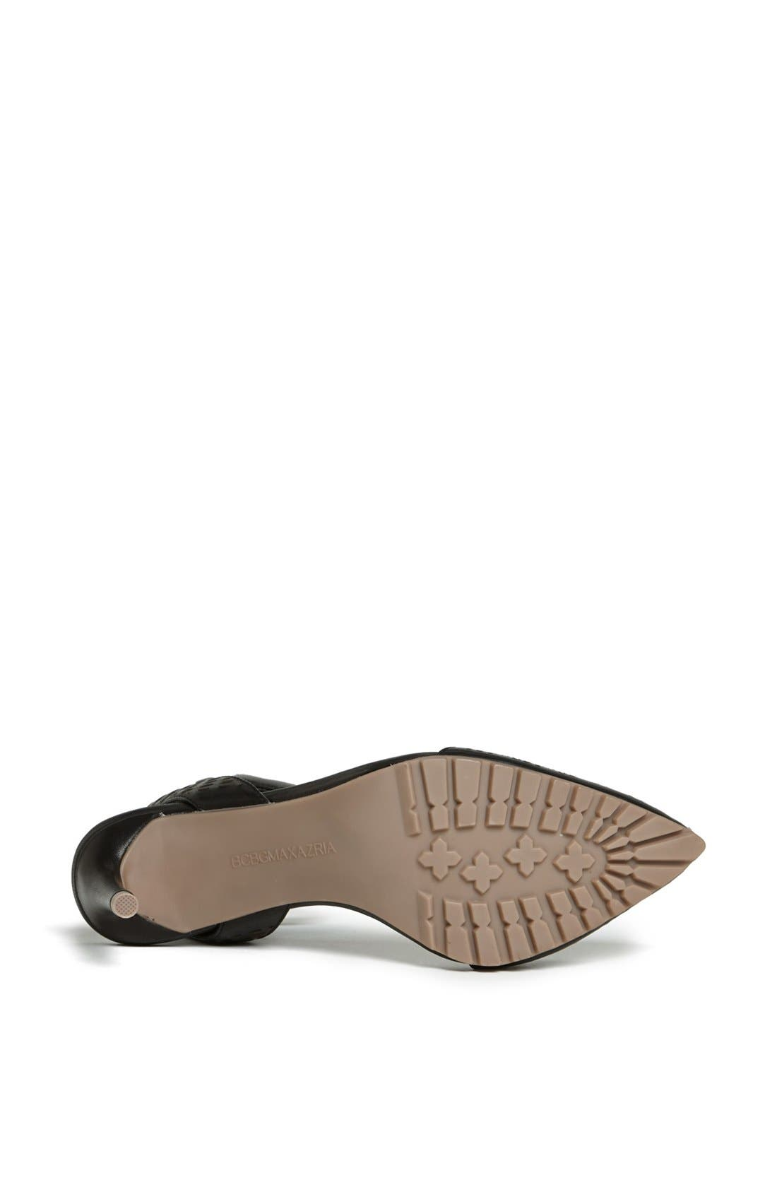 Alternate Image 3  - BCBGMAXAZRIA 'Coll' Perforated Leather Ankle Strap Sandal