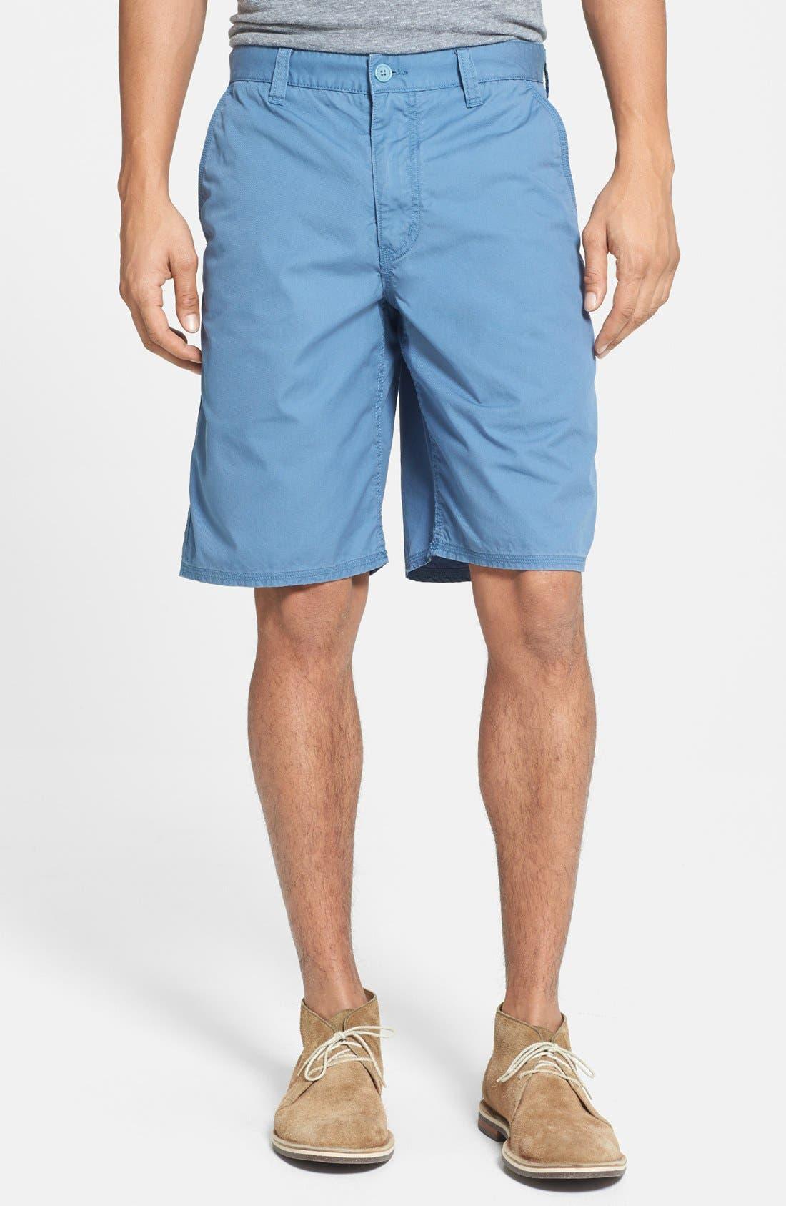 Main Image - John Varvatos Star USA 'Triple Needle' Shorts