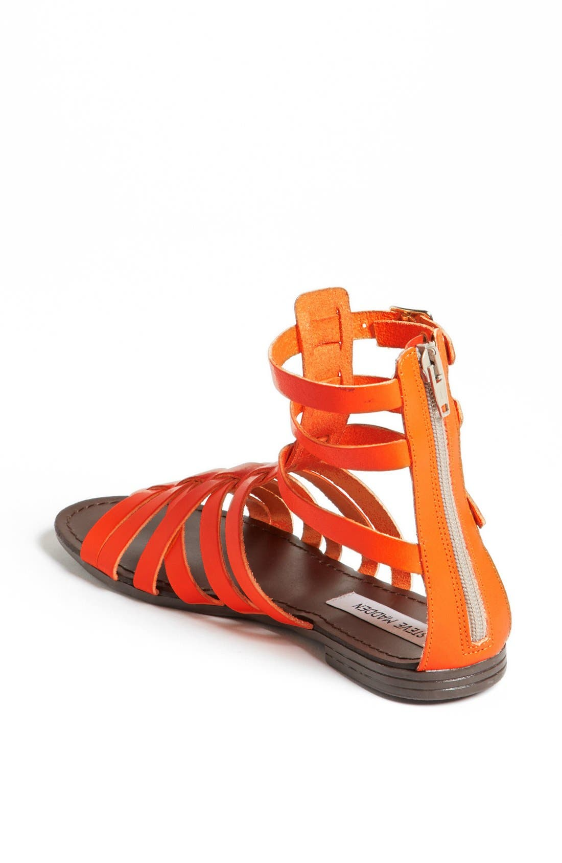 'Plato' Sandal,                             Alternate thumbnail 2, color,                             Orange