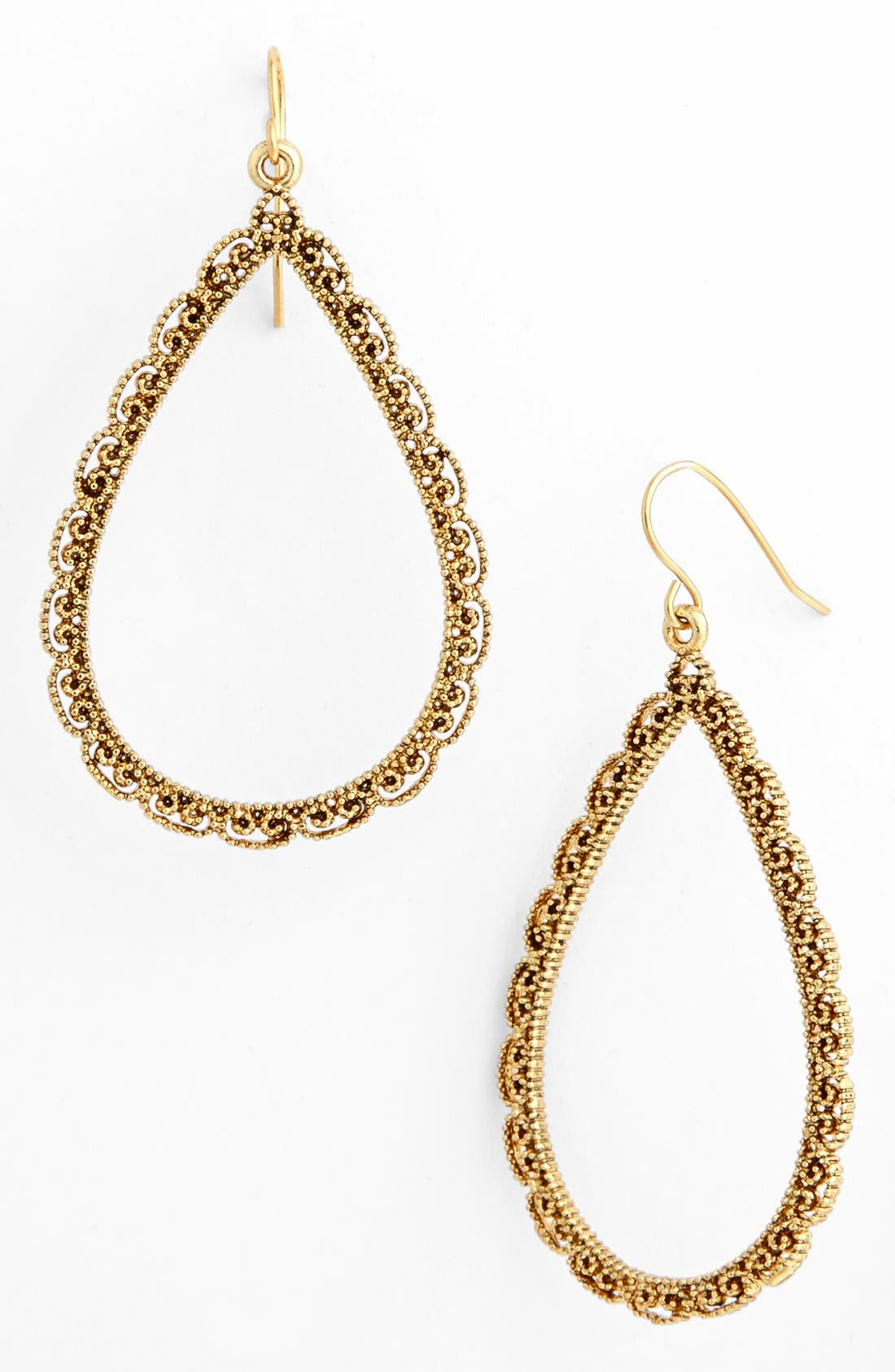 Alternate Image 1 Selected - Lauren Ralph Lauren Openwork Drop Earrings