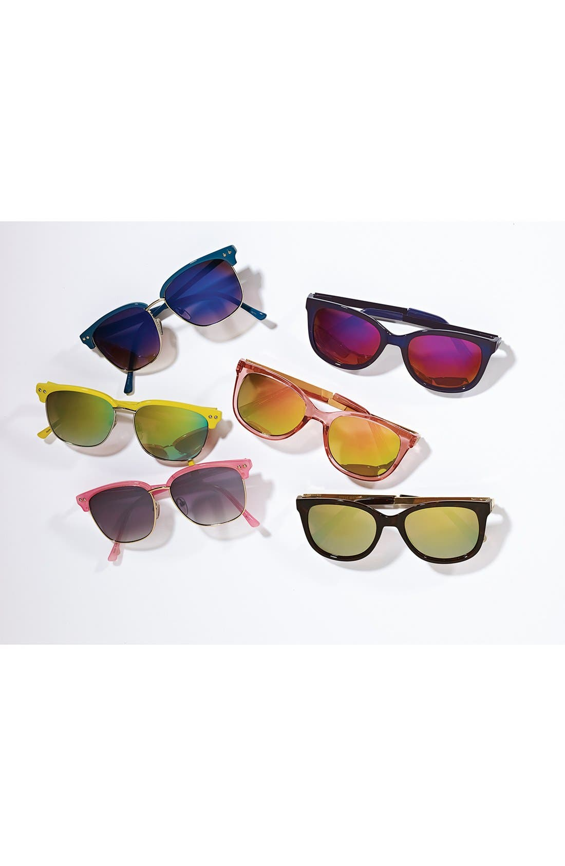 Alternate Image 2  - Outlook Eyewear 'Pastis' 53mm Sunglasses