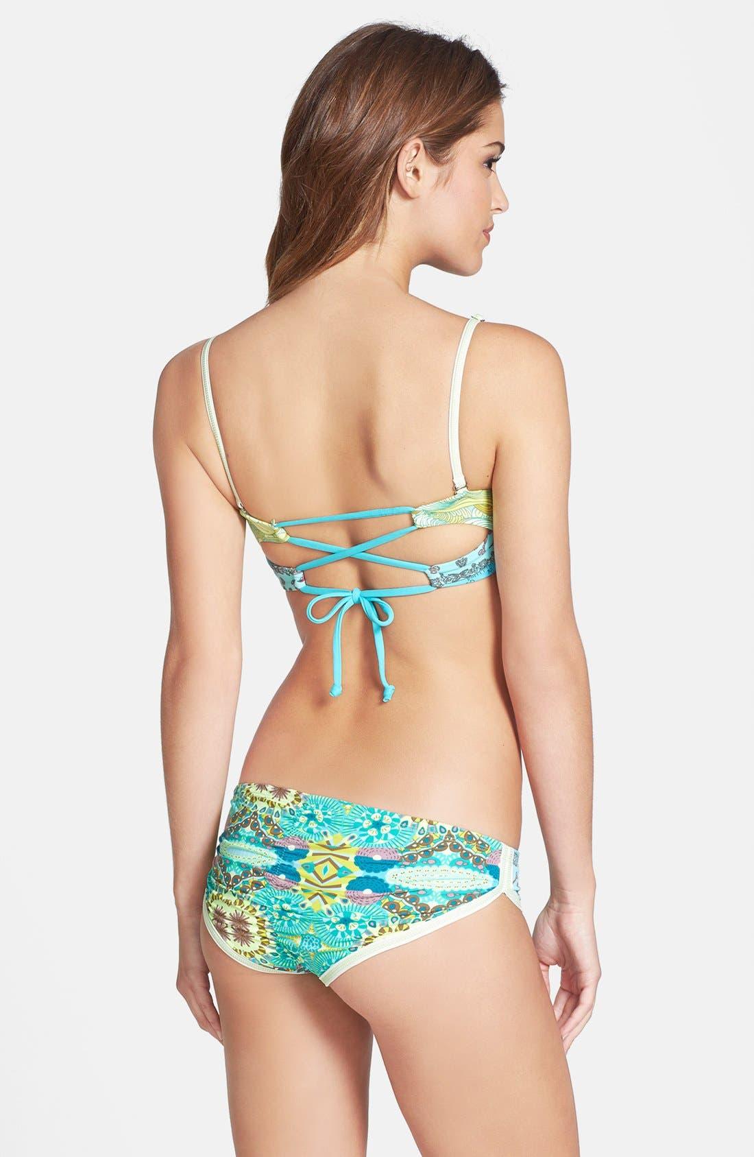 Alternate Image 4  - Maaji 'Wandering Citrus' Reversible Bikini Bottoms
