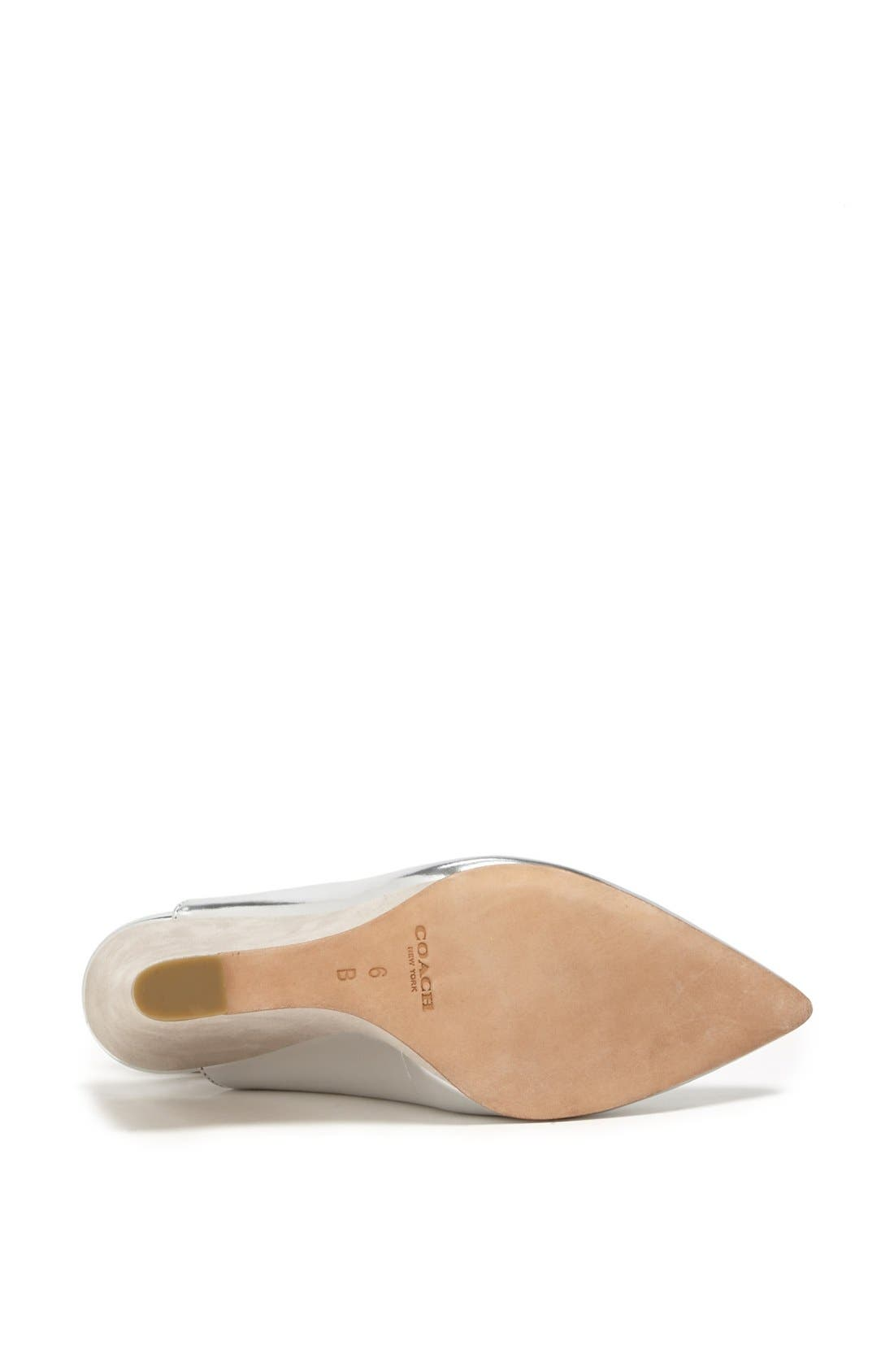 Alternate Image 4  - COACH 'Ollie' Pointy Toe Wedge Pump