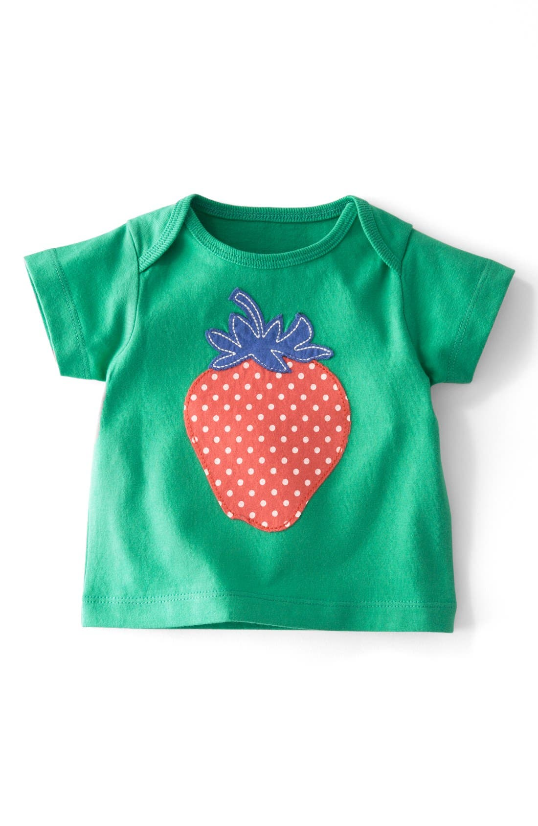 Main Image - Mini Boden 'Sunny Appliqué' Tee (Baby Girls)