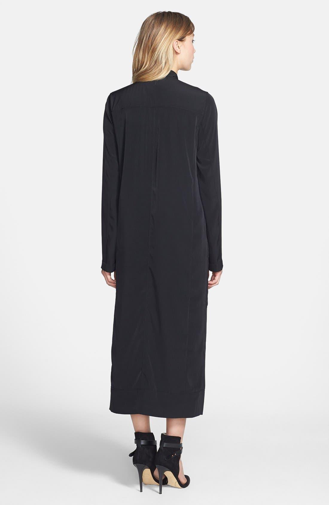 Alternate Image 2  - Leith Long Woven Cardigan