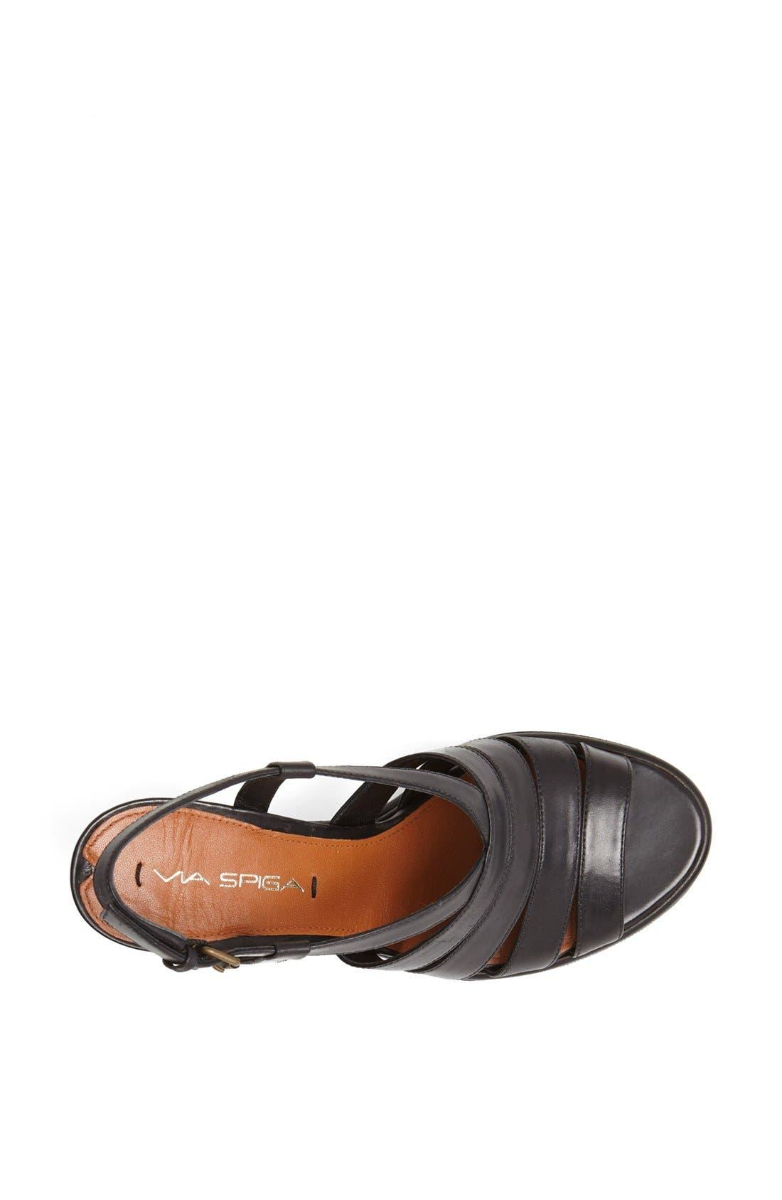 Alternate Image 4  - Via Spiga 'Damara' Wedge Sandal