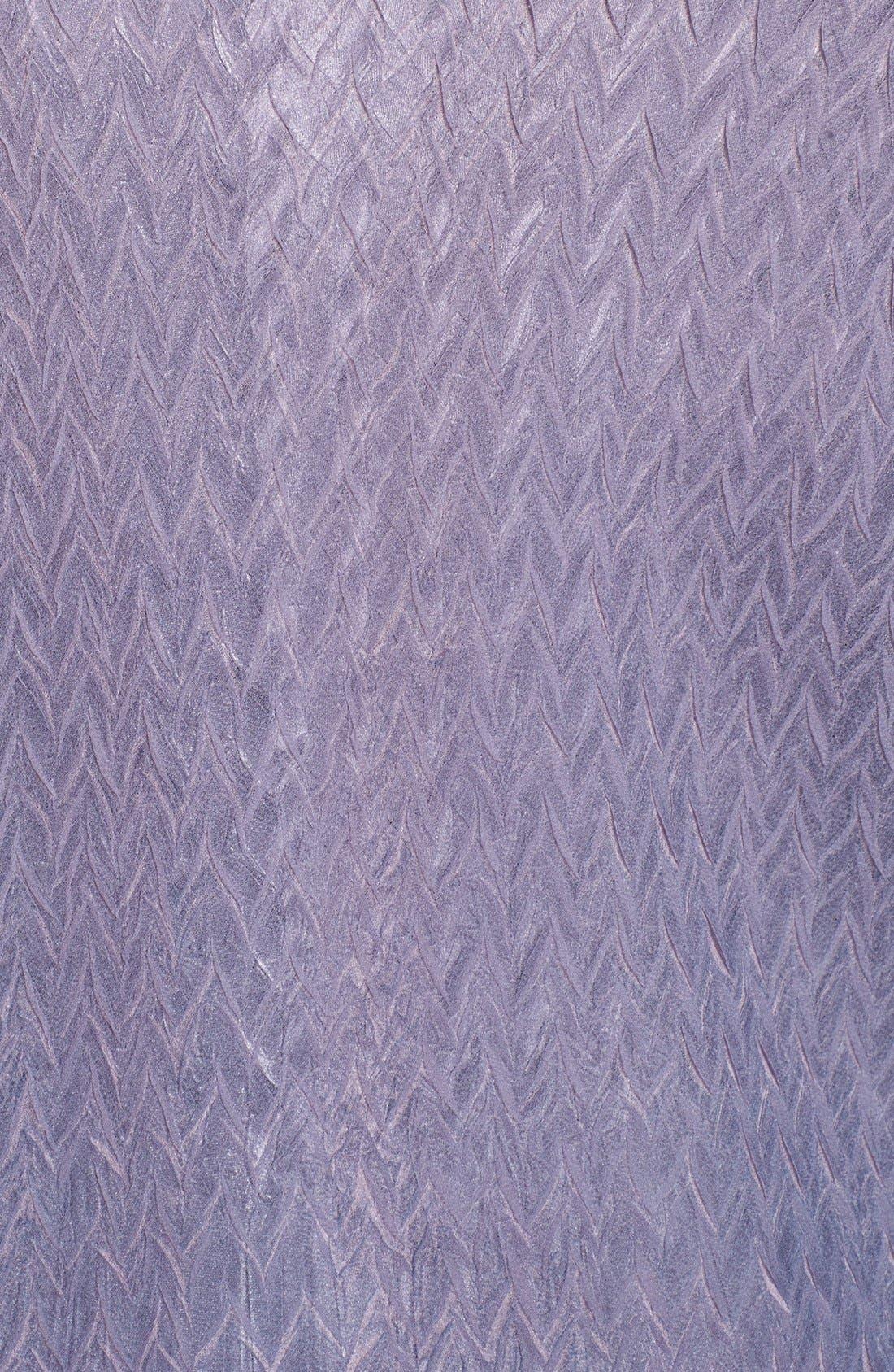 Alternate Image 3  - Komarov Embellished Mixed Media Dress & Jacket (Plus Size)