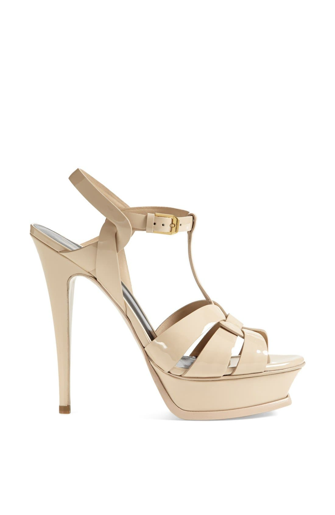 Alternate Image 4  - Saint Laurent Tribute T-Strap Platform Sandal (Women)