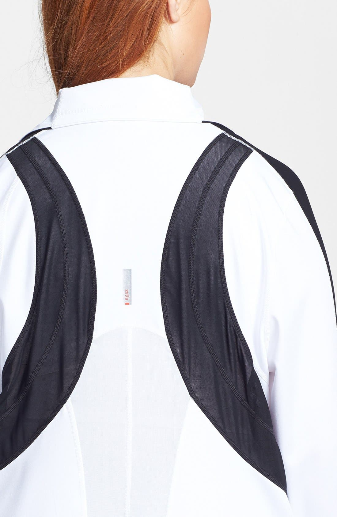 Alternate Image 6  - Zella 'Bliss' Colorblock Jacket (Plus Size)