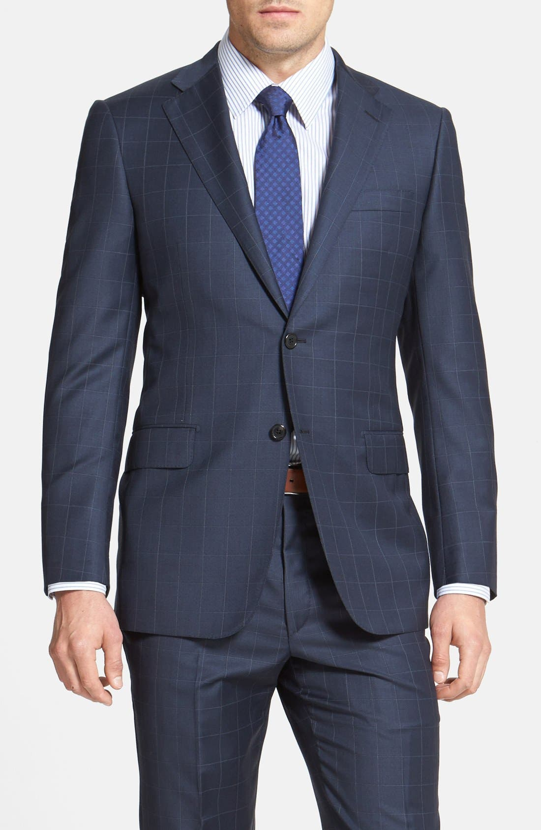 Alternate Image 3  - BEACON WINDOWPANE 2BTN SUIT