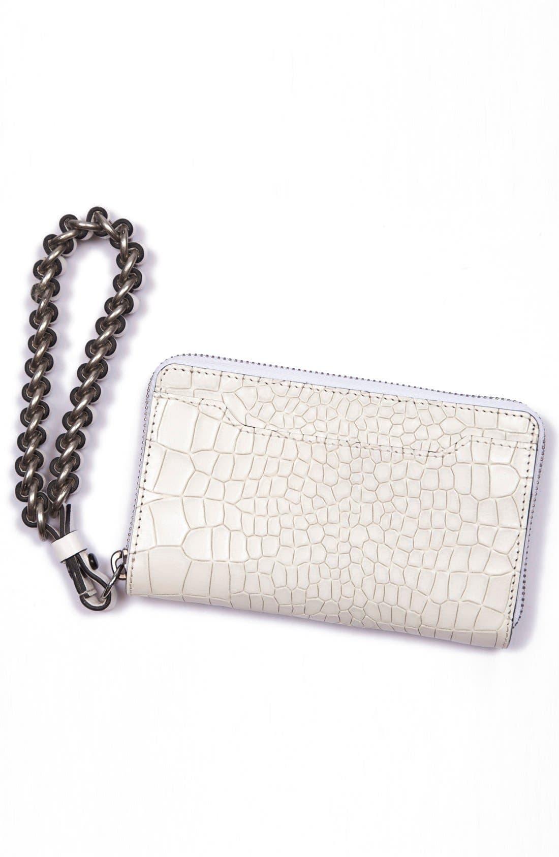 Alternate Image 3  - rag & bone 'Devon' Mobile Zip Wallet