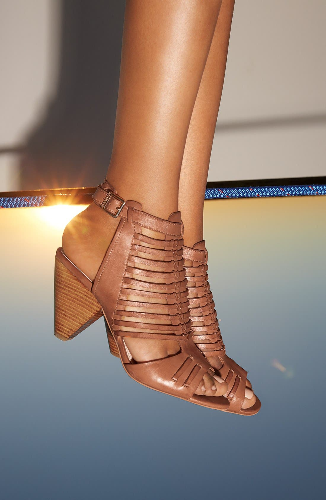 'Effel' Sandal,                             Alternate thumbnail 8, color,