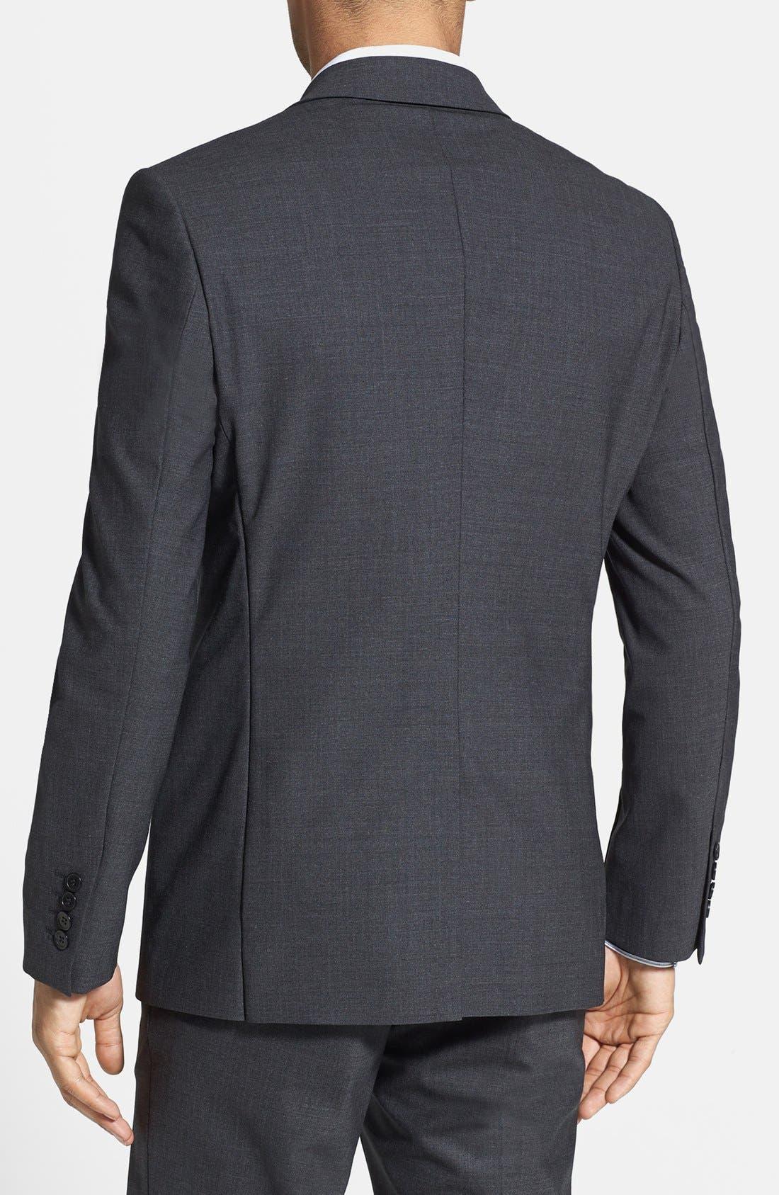 Alternate Image 2  - Kenneth Cole Collection Wool Blend Blazer