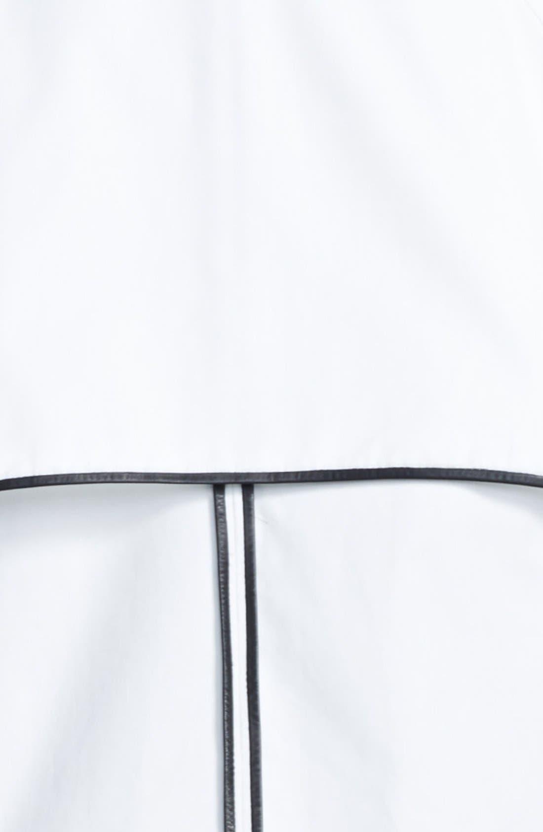 Alternate Image 4  - A.L.C. 'Hampton' Leather Trim Cotton Canvas Jacket