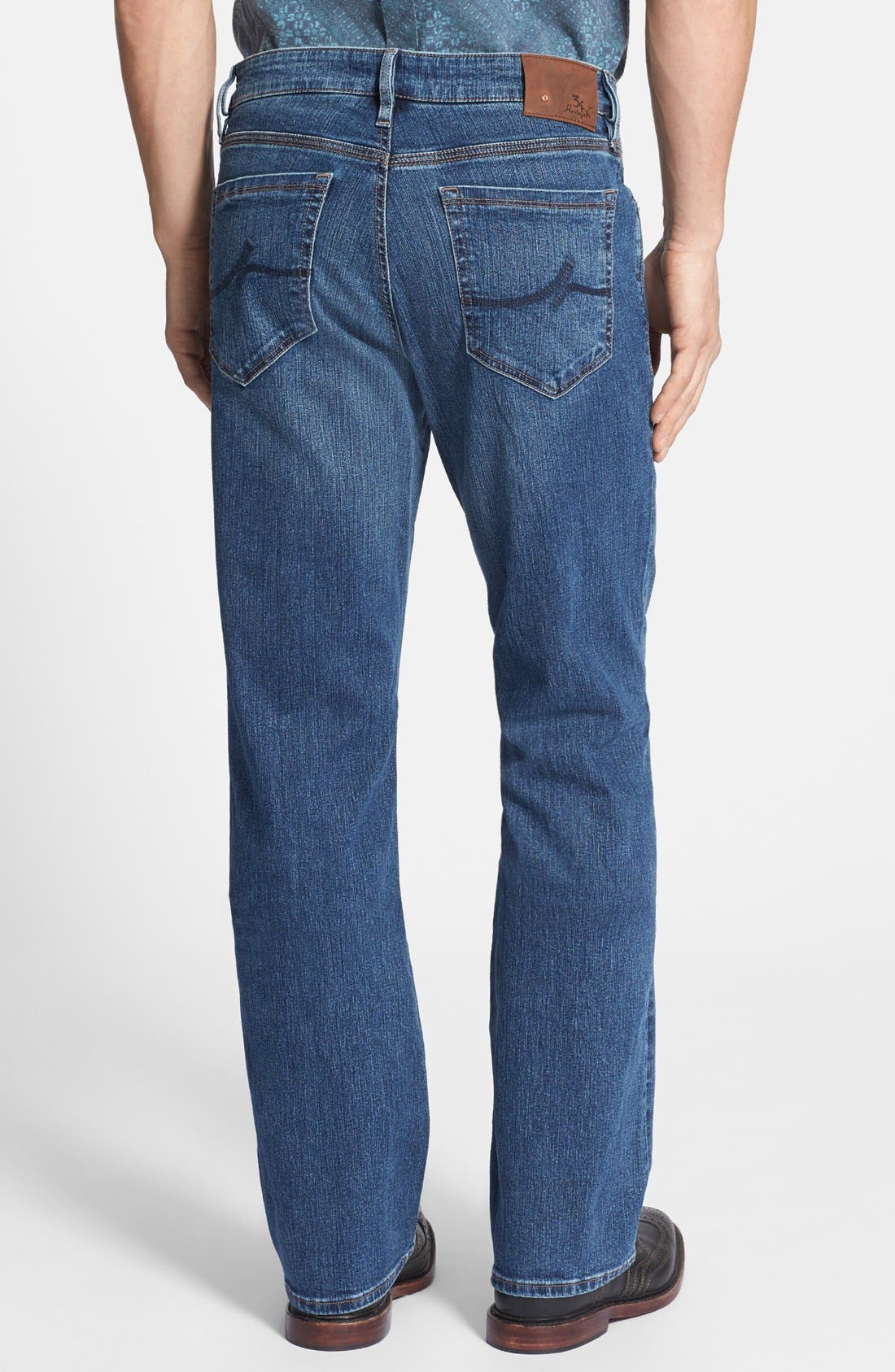 Charisma Classic Relaxed Fit Jeans,                             Alternate thumbnail 3, color,                             Mid Comfort