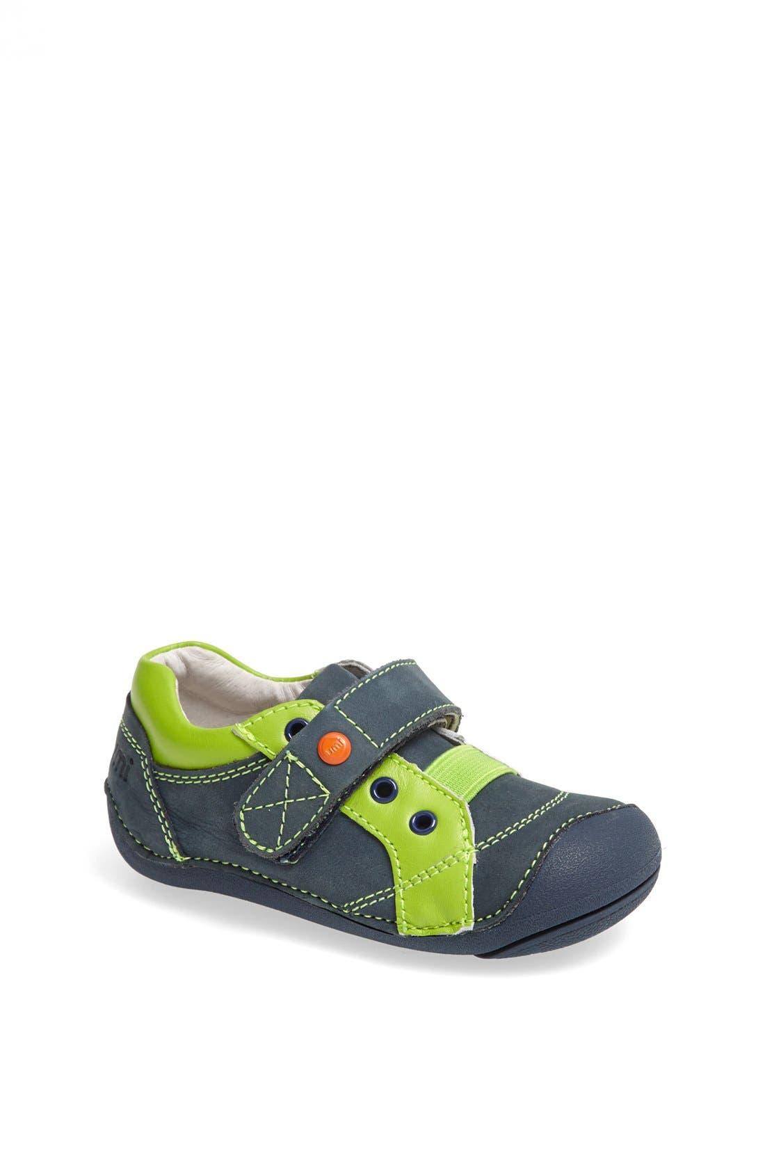 Alternate Image 1 Selected - Umi 'Weelie' Oxford Sneaker (Baby & Walker)