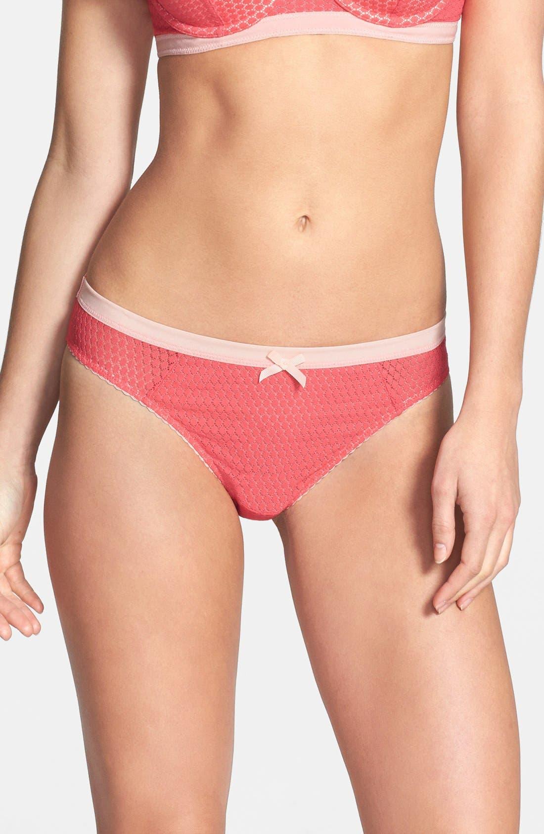 Alternate Image 1 Selected - Elle Macpherson Body 'Safari Style' Thong