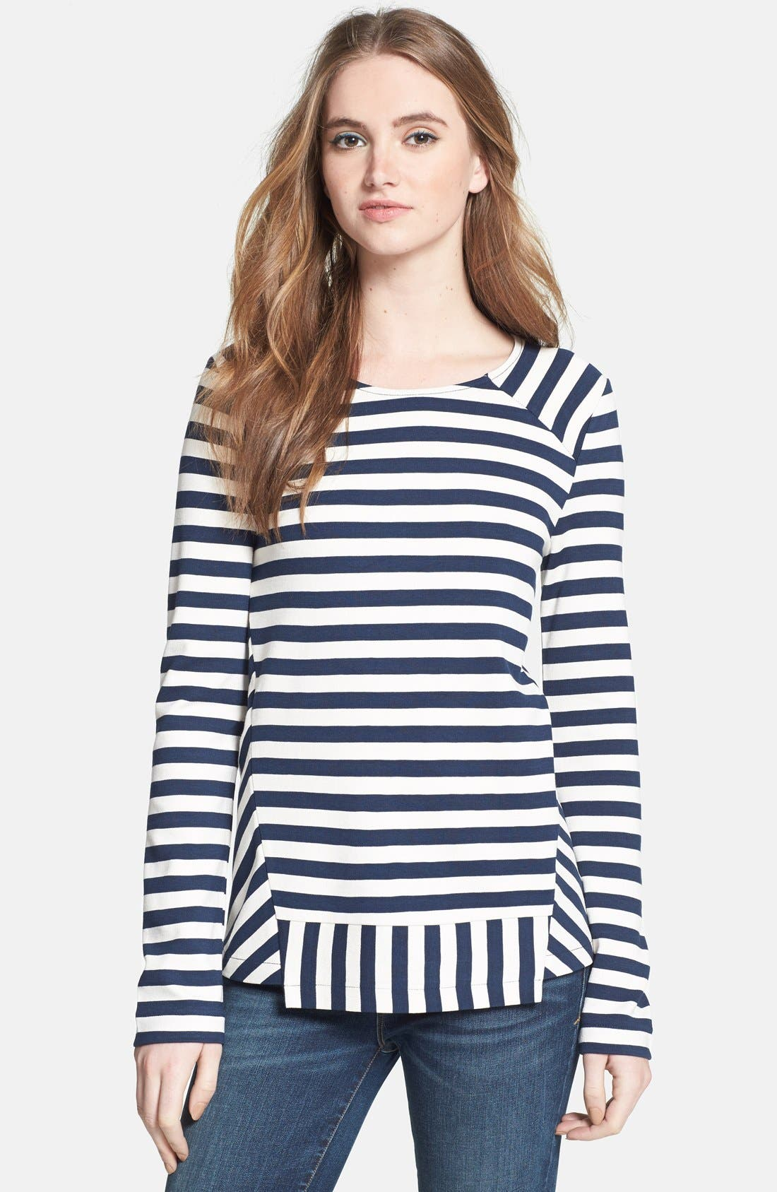 Alternate Image 1 Selected - MARC BY MARC JACOBS 'Yuni' Stripe Tee