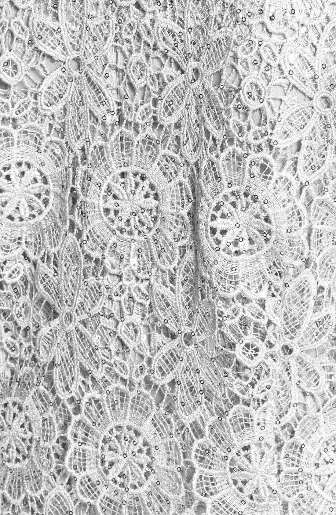 Alternate Image 3  - Alex Evenings Sequin Lace Dress & Jacket (Plus Size)
