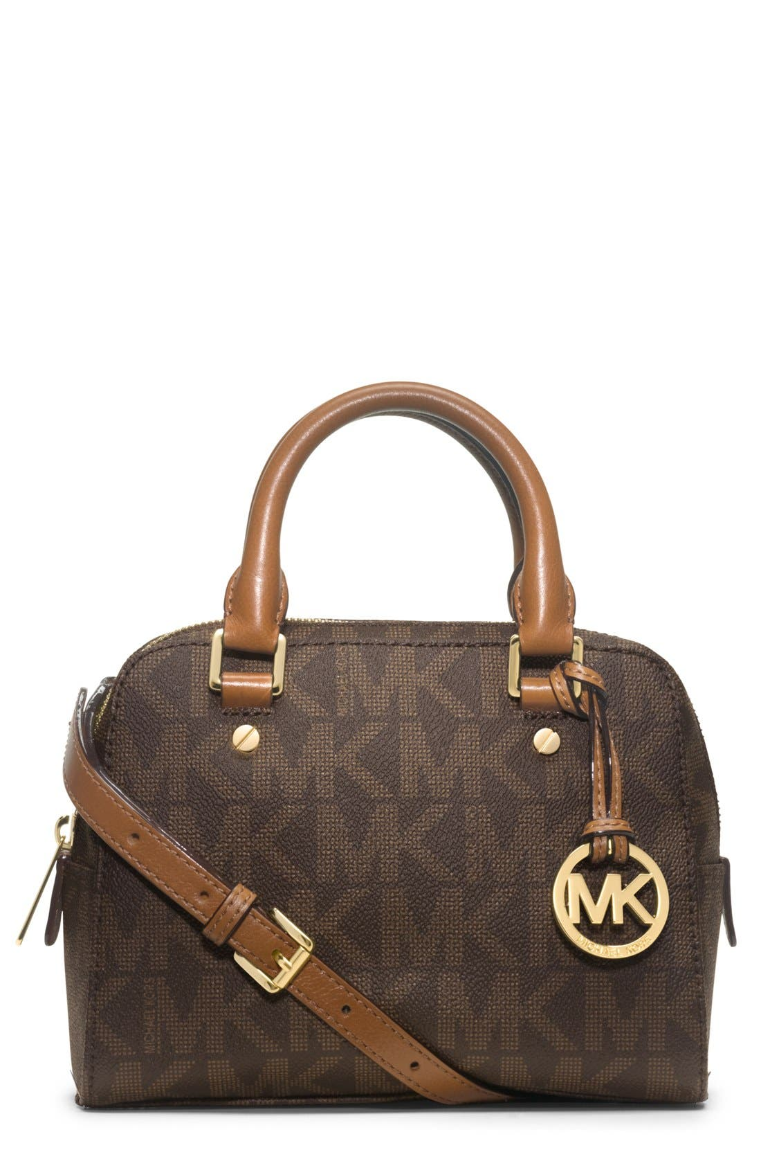 Alternate Image 1 Selected - MICHAEL Michael Kors 'Small' Logo Satchel