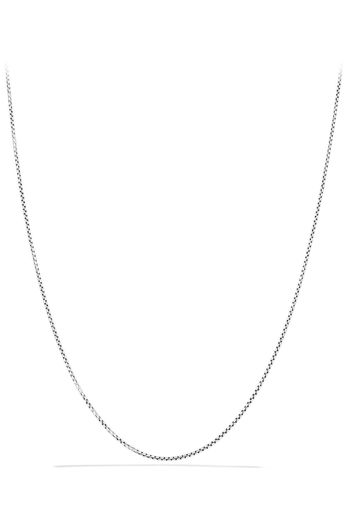 David Yurman 'Chain' Baby Box Chain Necklace