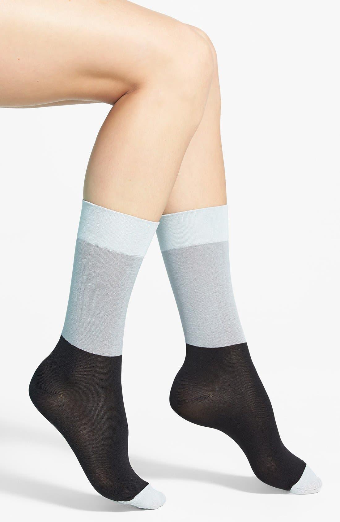 Alternate Image 1 Selected - Hue Ultrasmooth Socks (3 for $18)