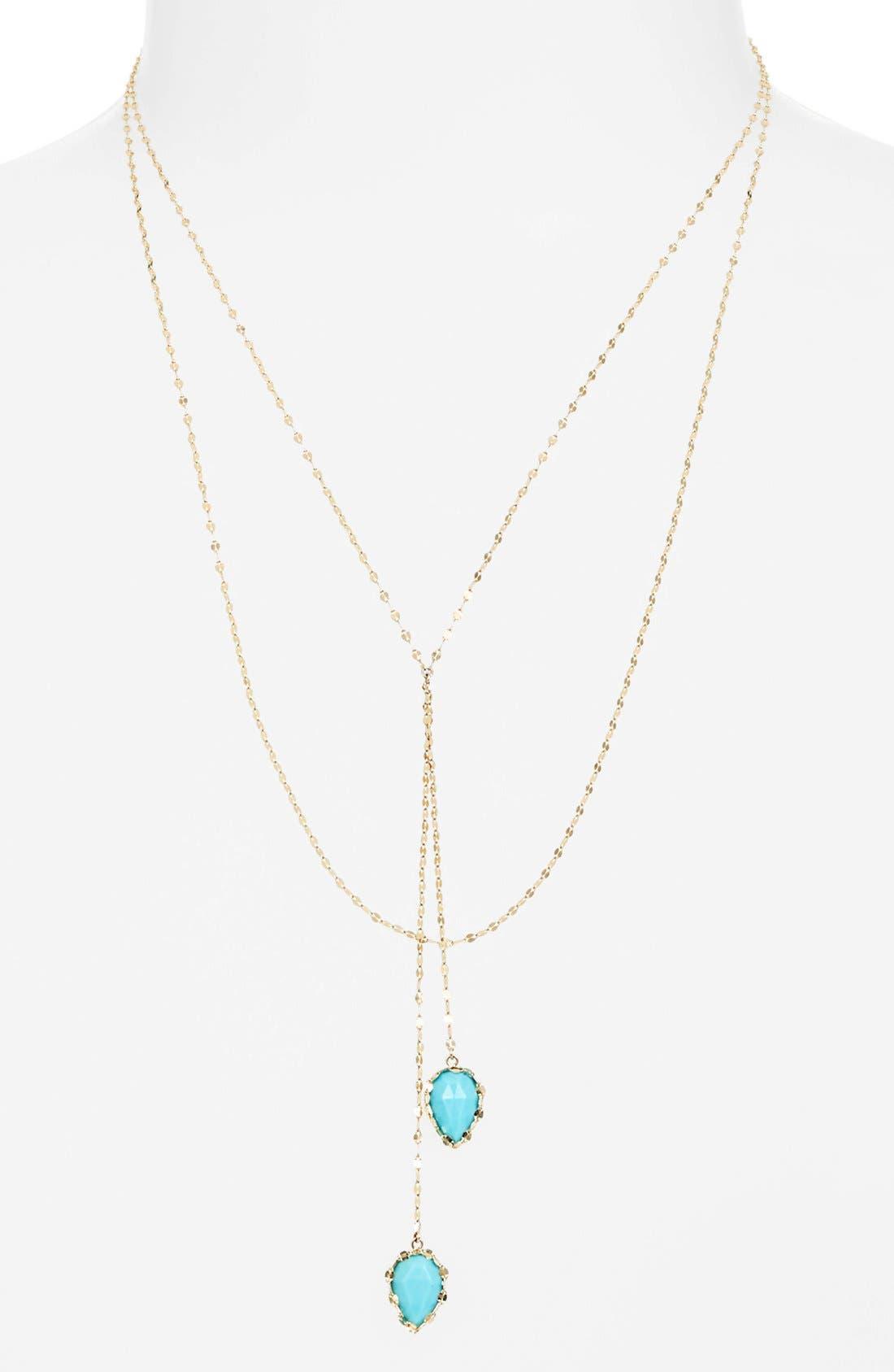Alternate Image 1 Selected - Lana Jewelry 'Blush' Lariat Necklace