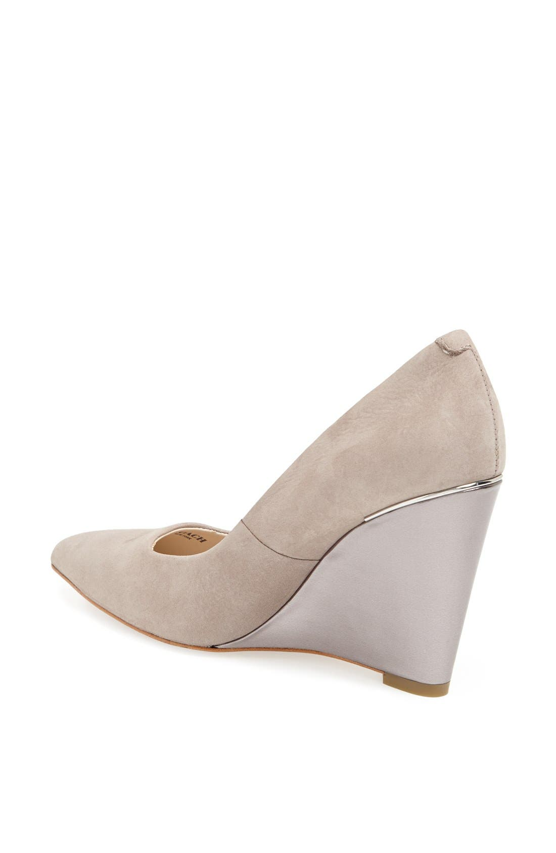 Alternate Image 2  - COACH 'Orchard' Wedge Pump