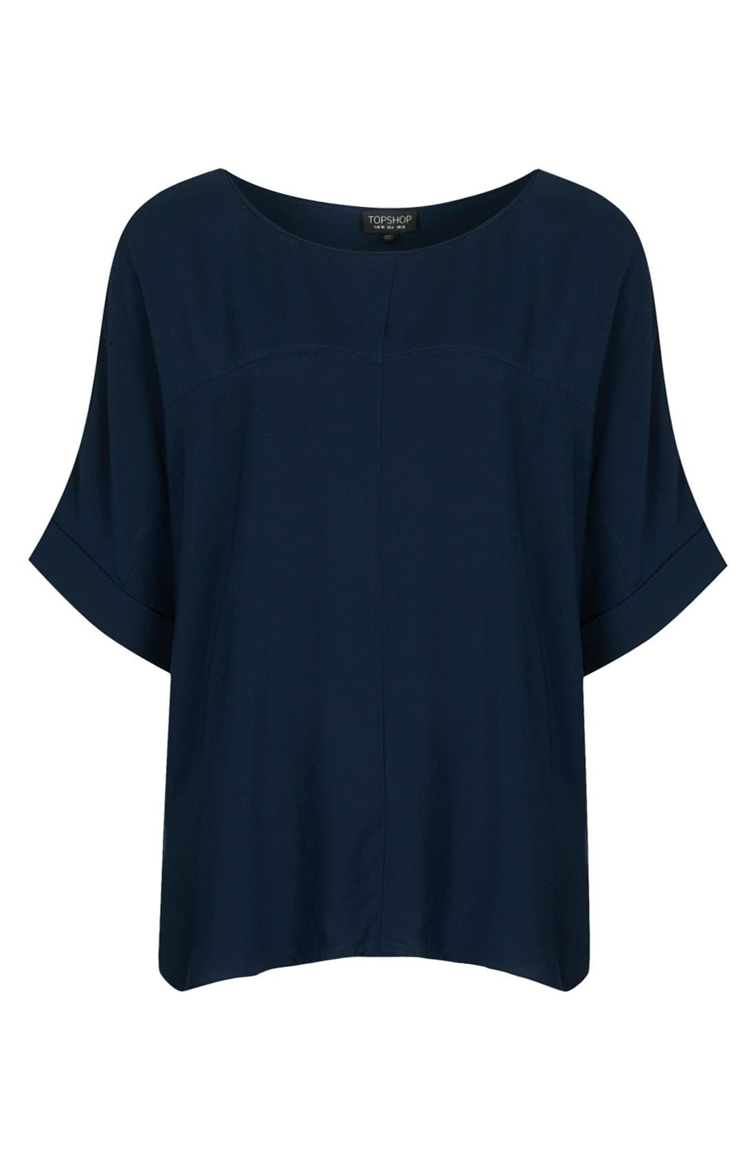 Alternate Image 3  - Topshop Seam Detail Tee