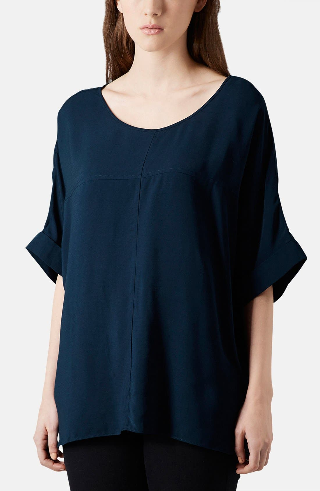 Alternate Image 1 Selected - Topshop Seam Detail Tee
