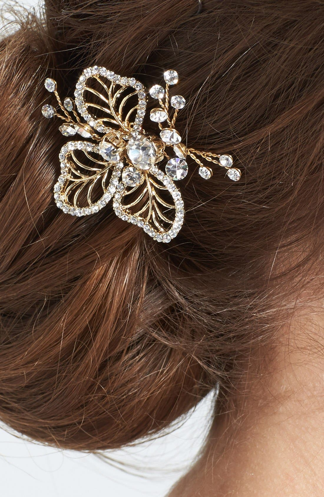 'Cosette 2' Hairpin,                             Alternate thumbnail 2, color,                             Gold