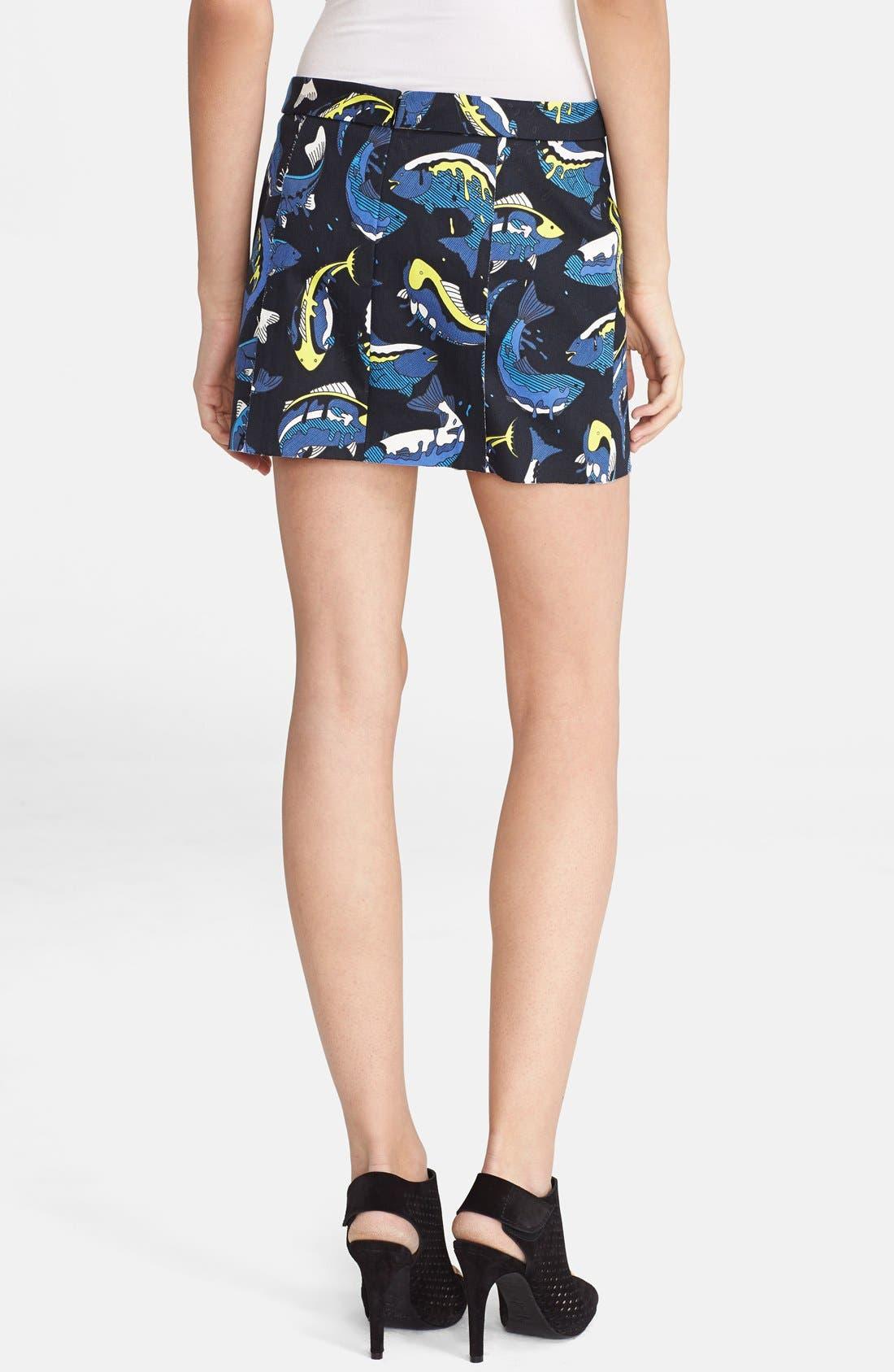 Alternate Image 2  - KENZO Cotton Twill Miniskirt