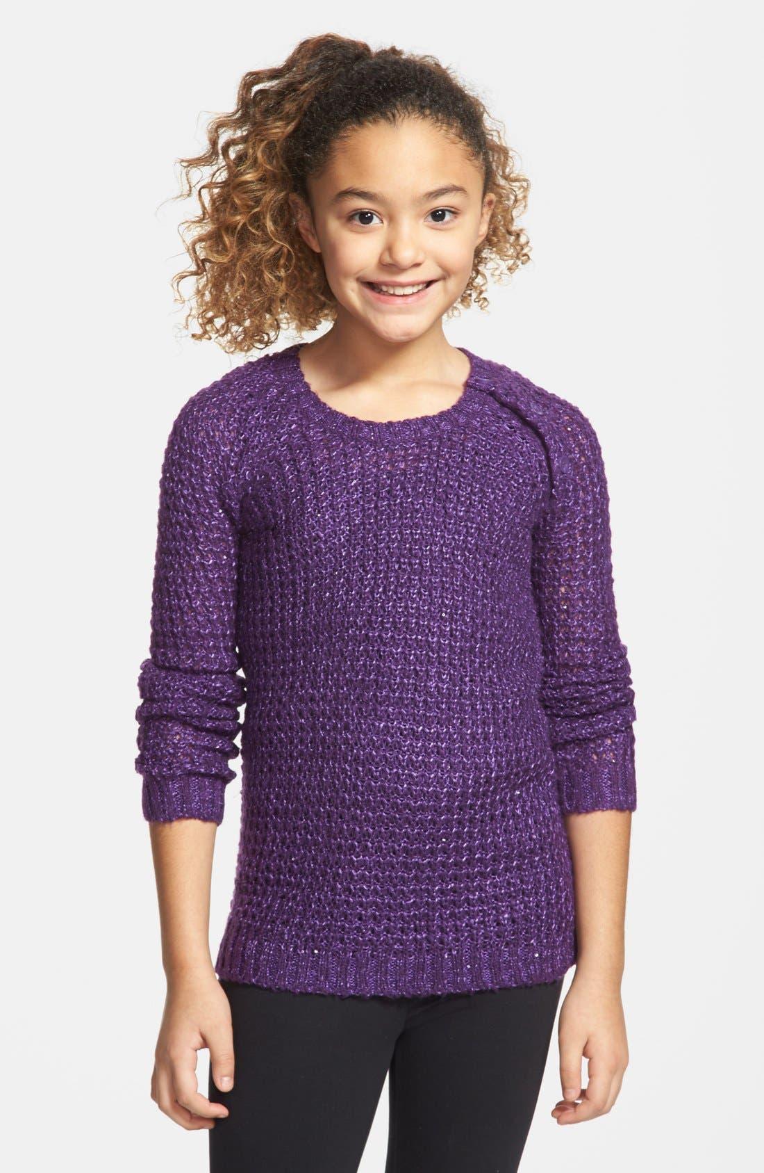 Alternate Image 1 Selected - Tucker + Tate 'Gia' Sweater (Big Girls)