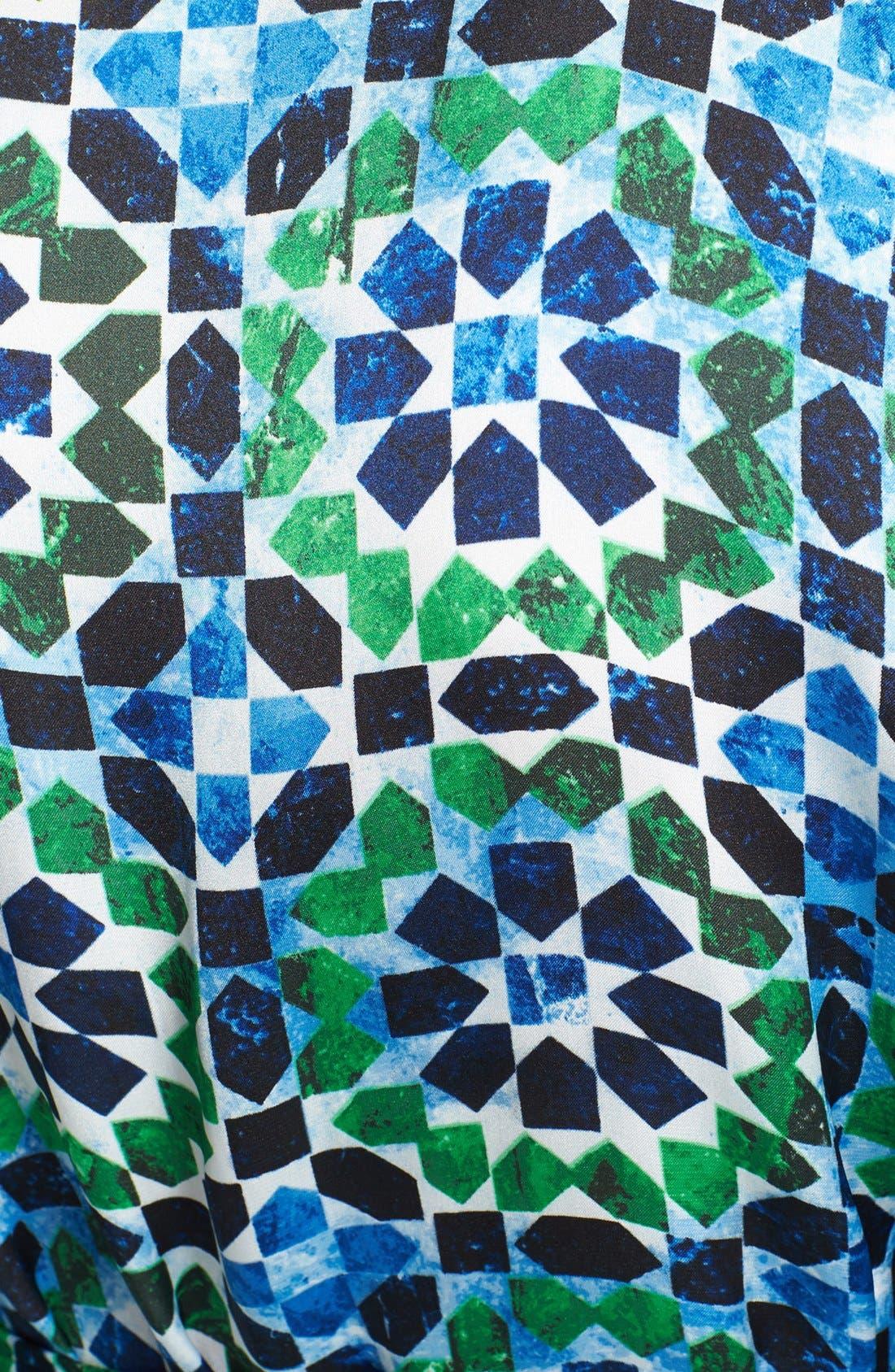 Alternate Image 3  - MICHAEL Michael Kors Print Belted Kimono Tunic